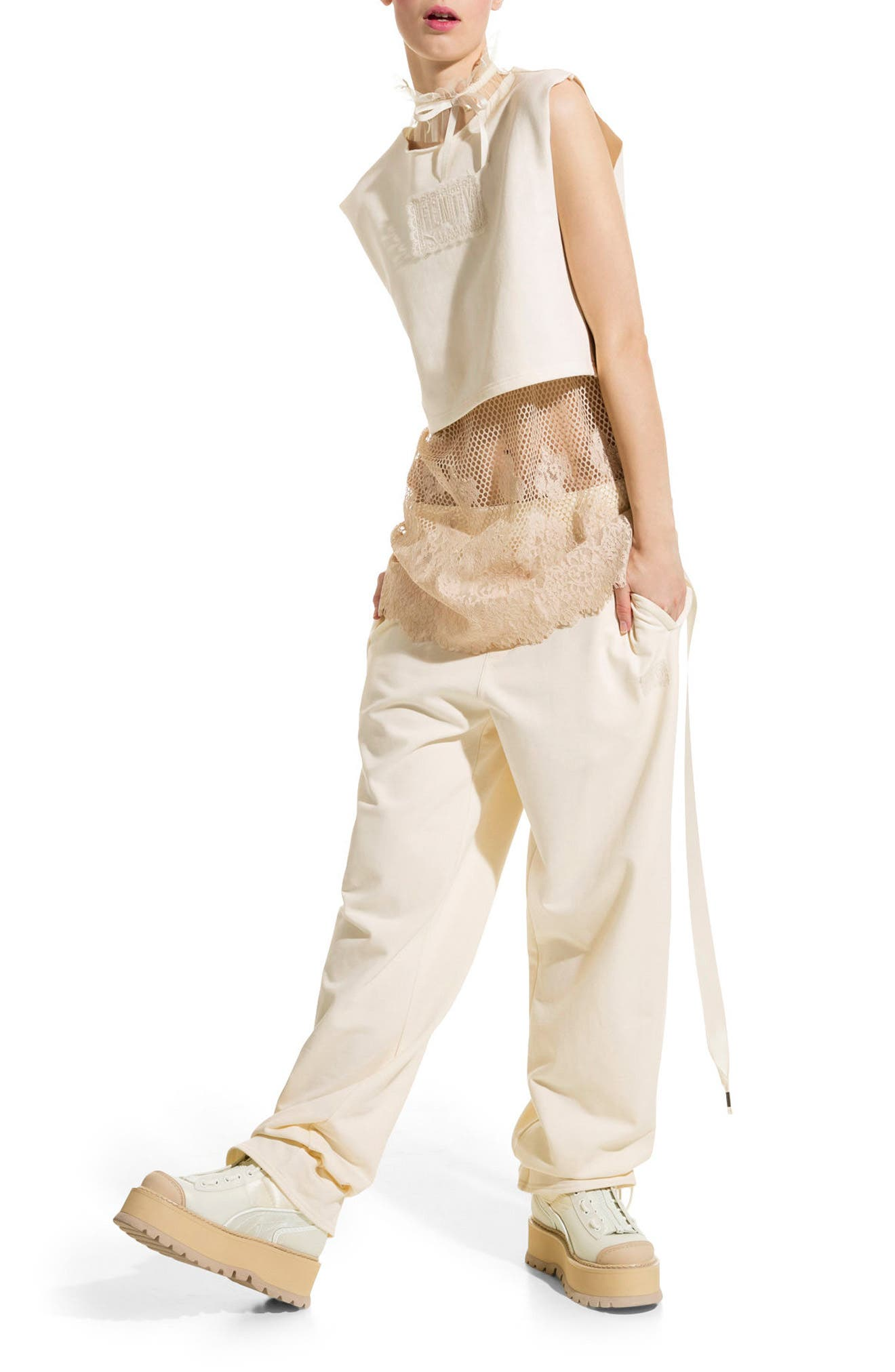 Alternate Image 2  - FENTY PUMA by Rihanna Gathered Ankle Sweatpants