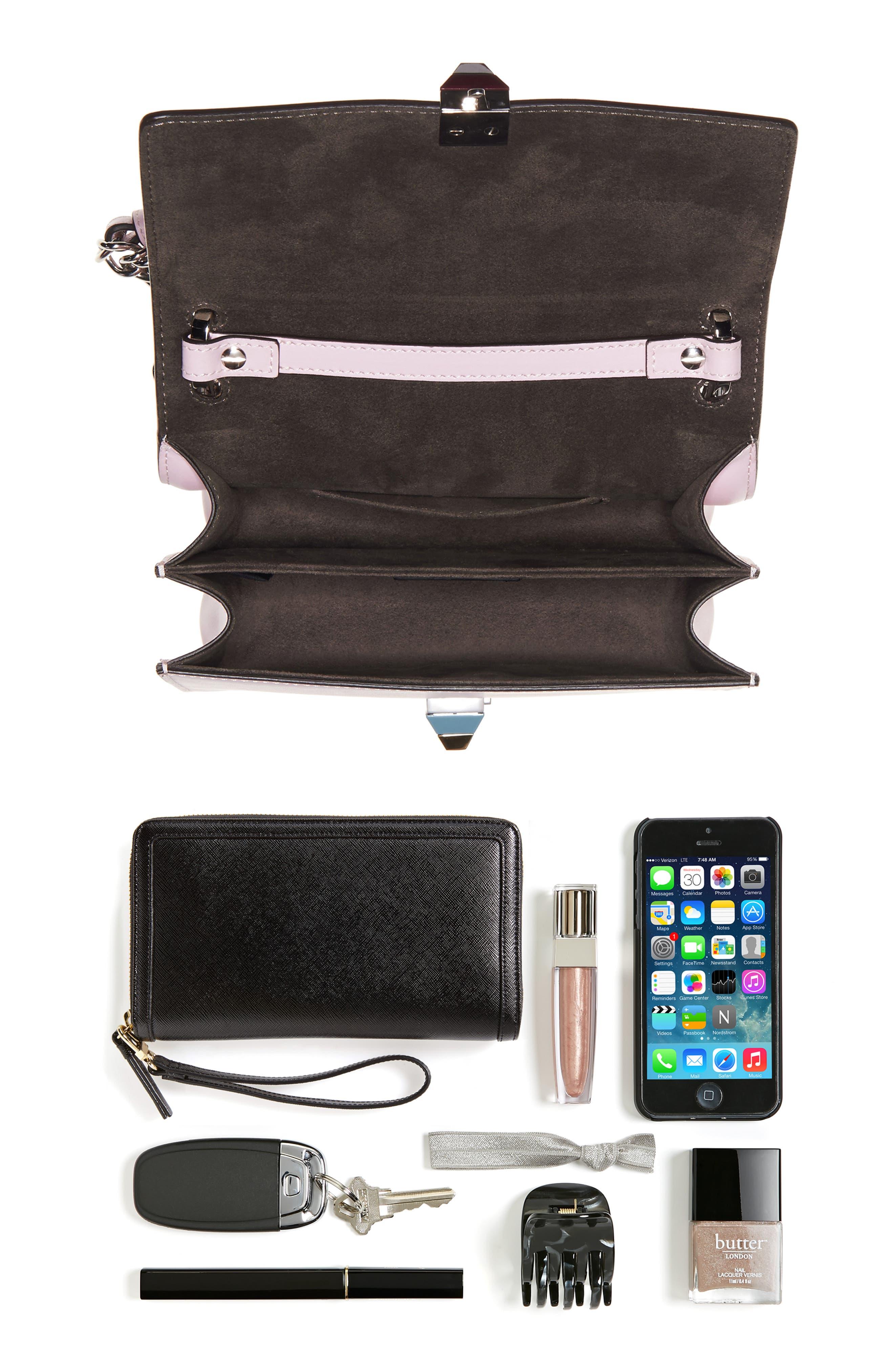 Alternate Image 2  - Fendi Small Kan I Leather Bag