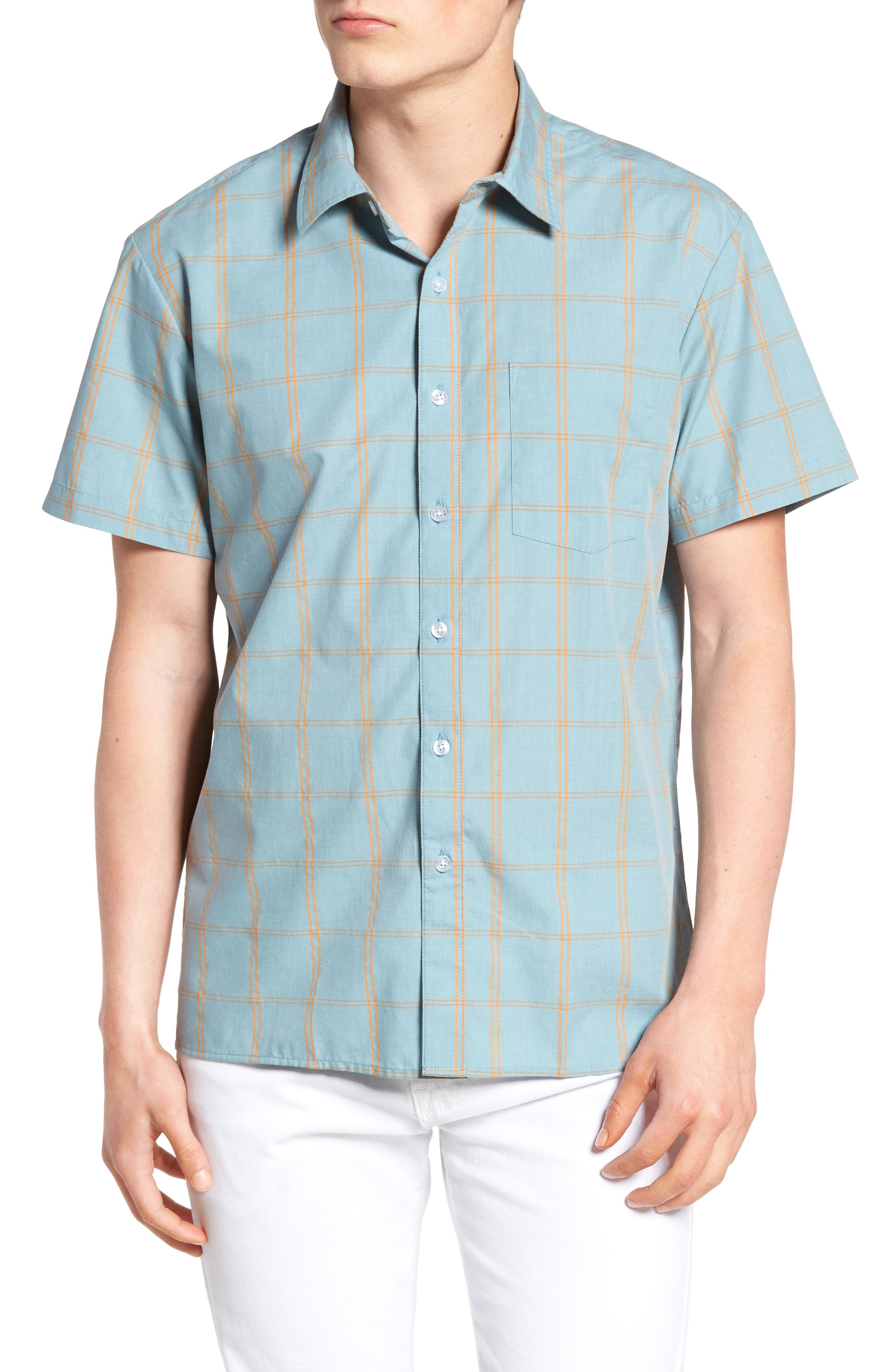 Brixton Hutton Stripe Woven Shirt