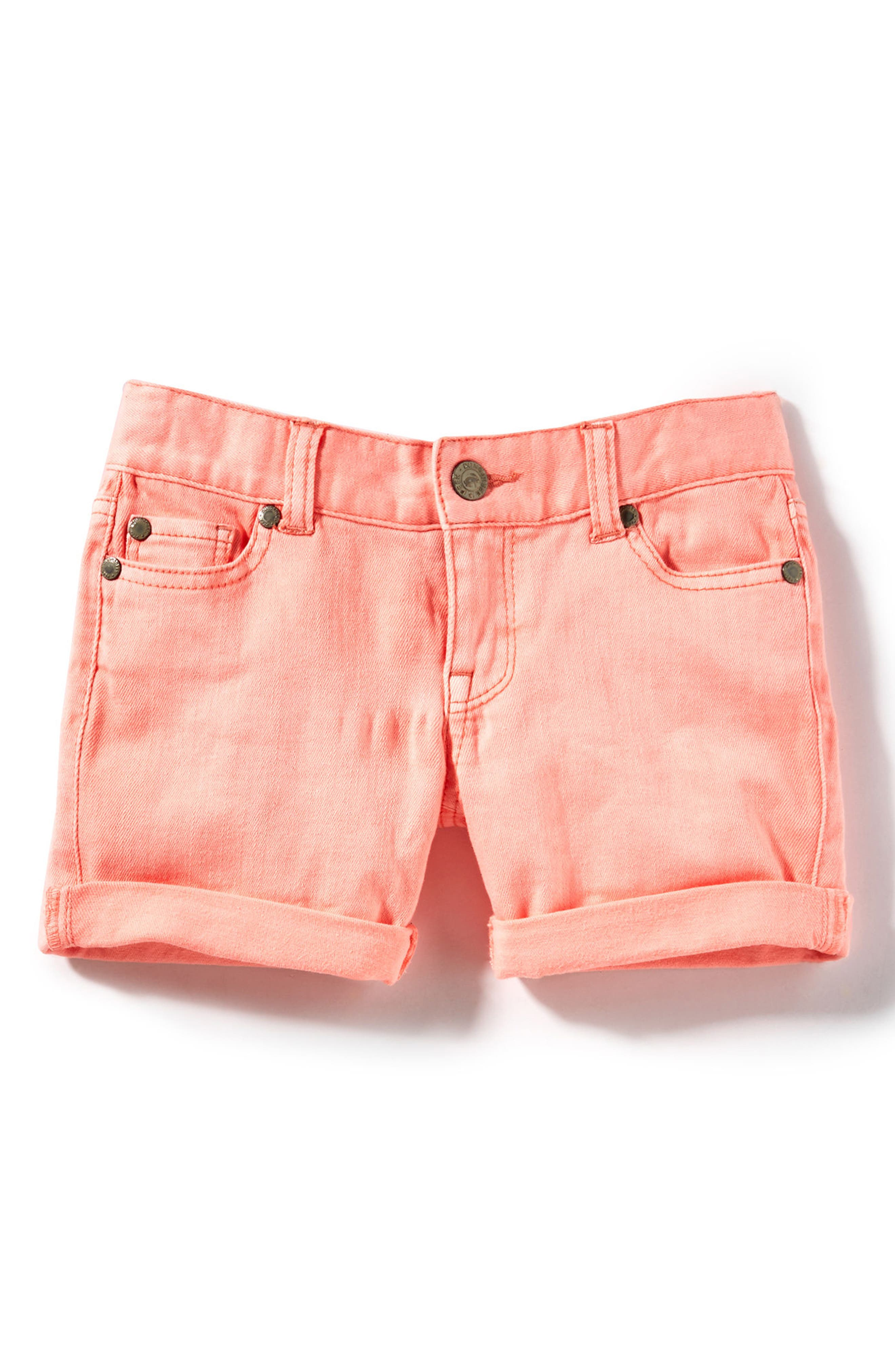 Peek Griffin Roll Cuff Shorts (Toddler Girls, Little Girls & Big Girls)