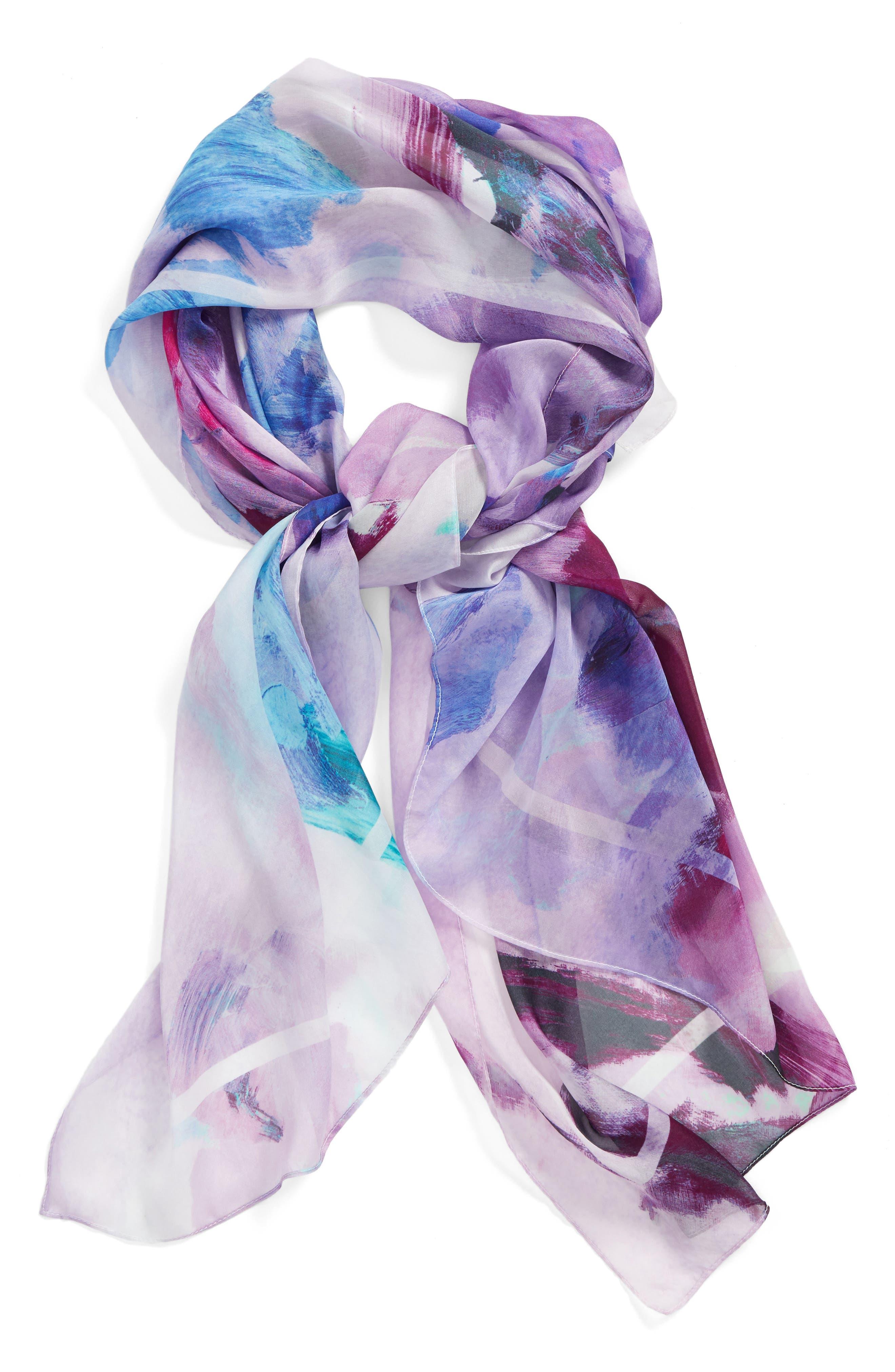 Nordstrom Impression Paradise Silk Scarf