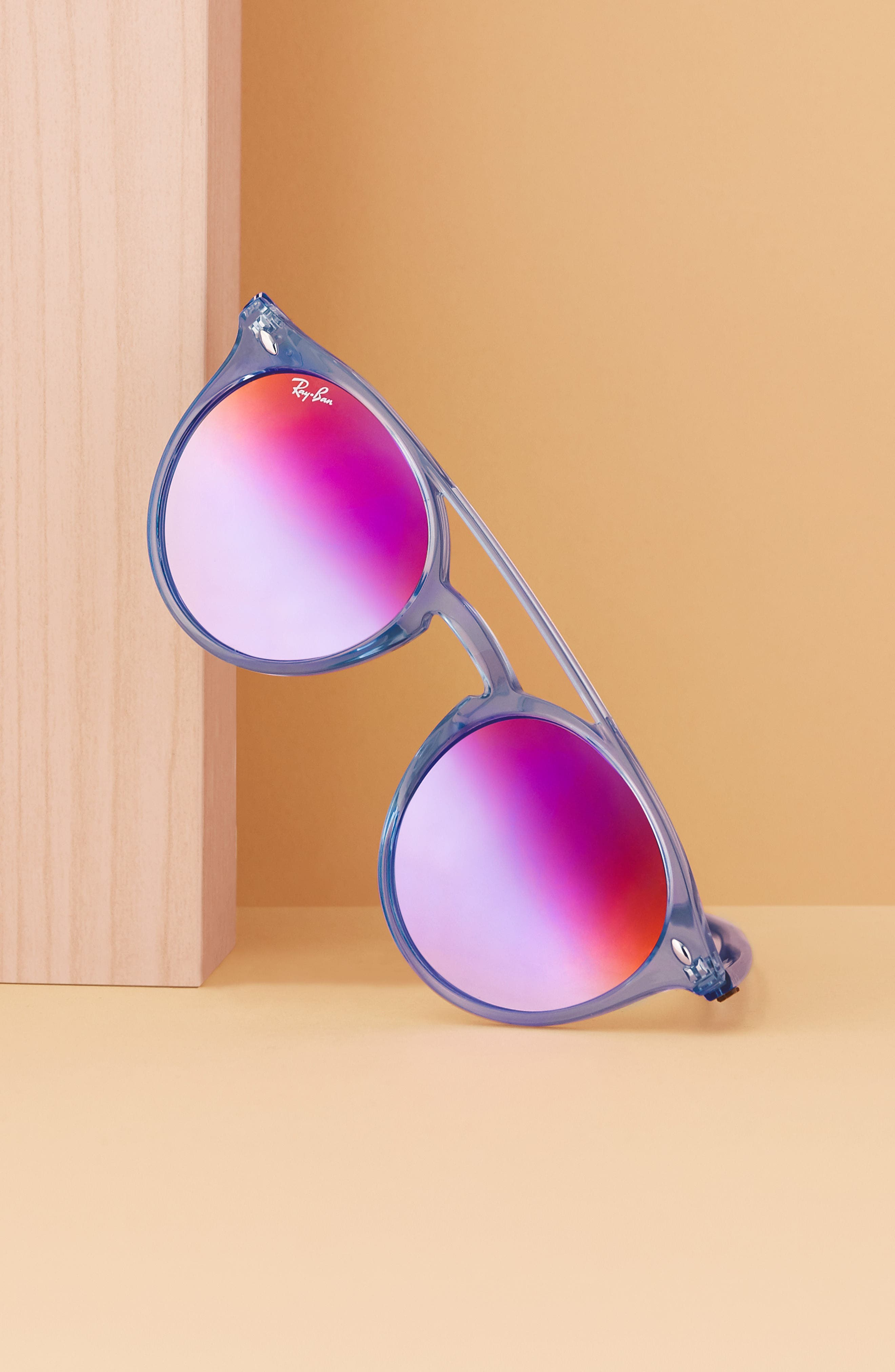 Alternate Image 2  - Ray-Ban 51mm Mirrored Rainbow Sunglasses