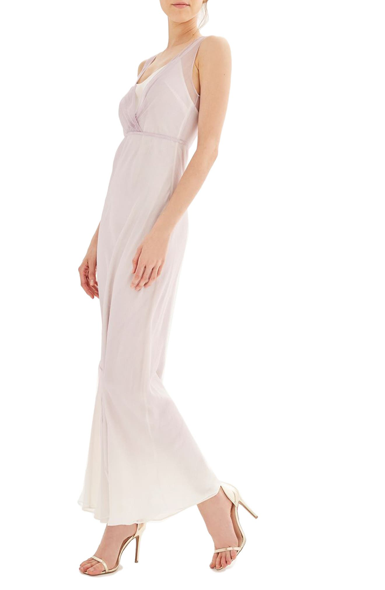 Alternate Image 3  - Topshop Bride Column Gown