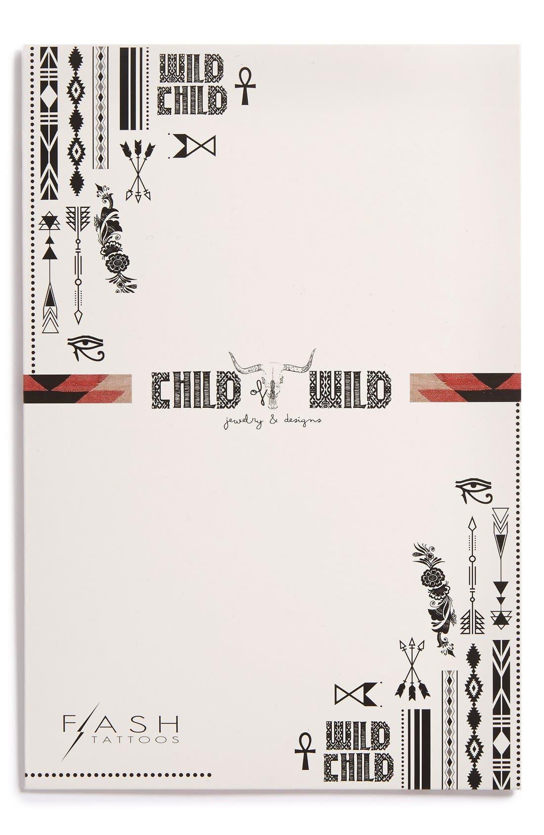 Main Image - Flash Tattoos 'Child of Wild' Temporary Tattoos (Juniors)