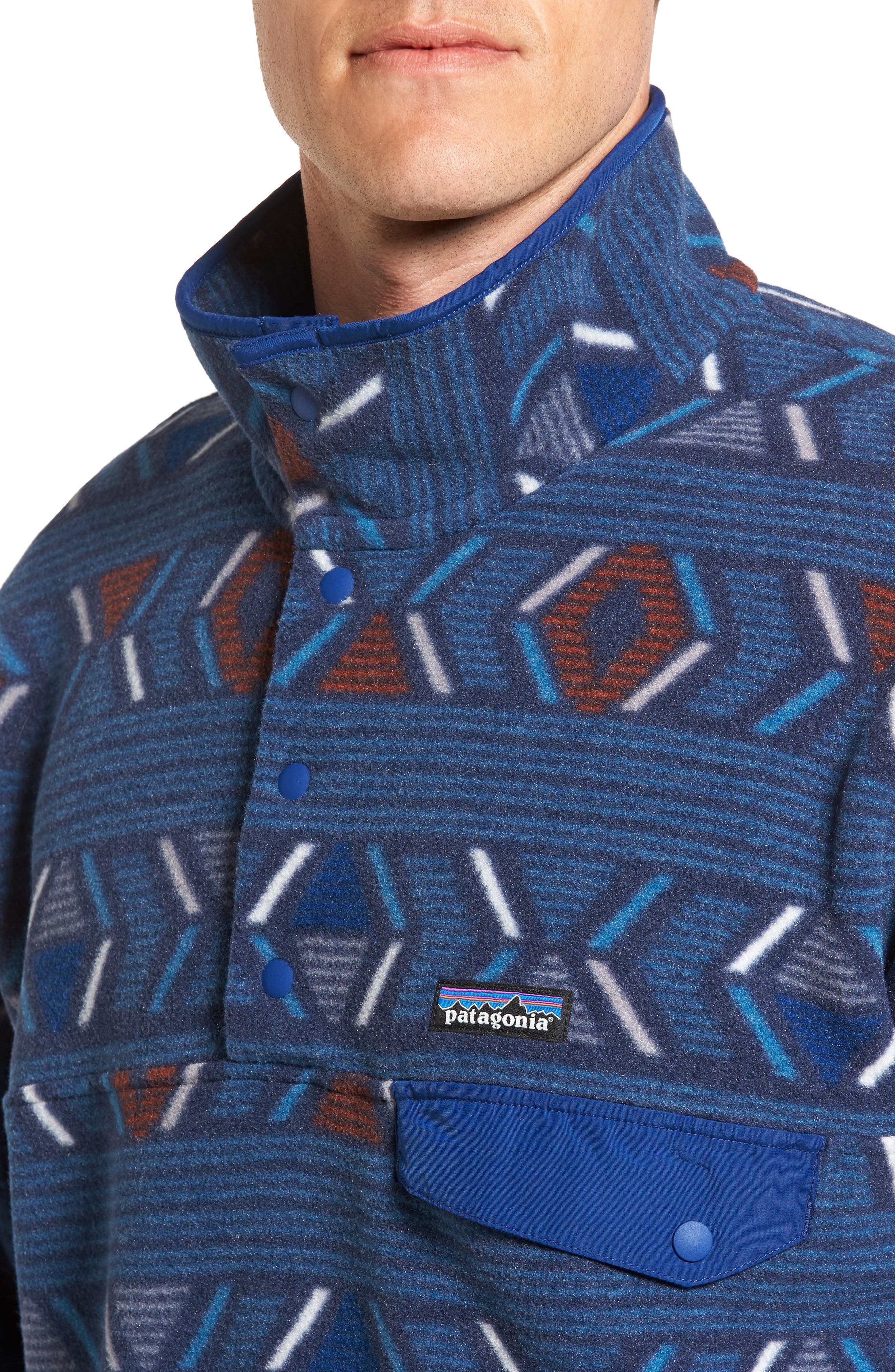 Alternate Image 4  - Patagonia 'Synchilla® Snap-T' Pullover
