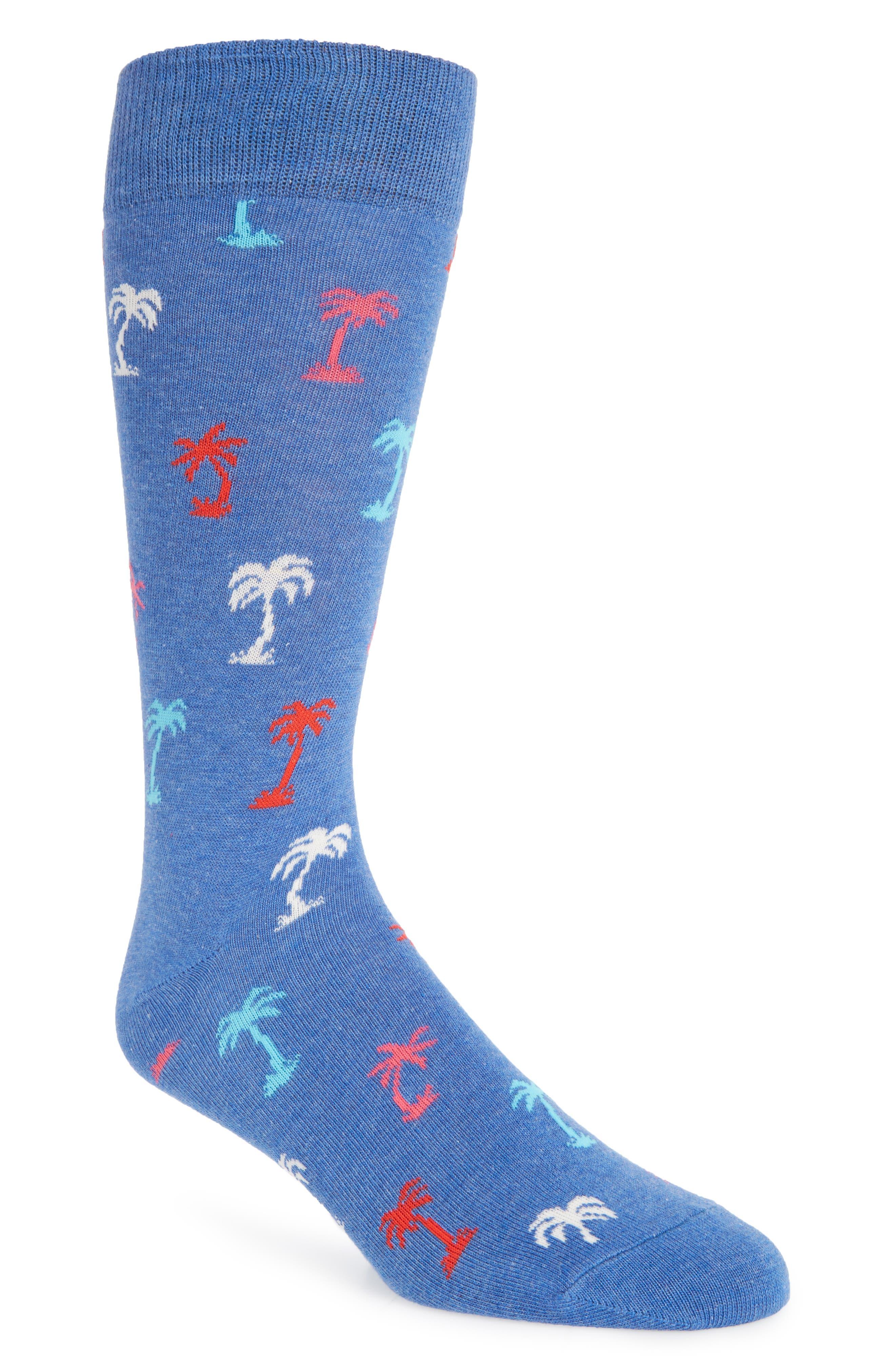Main Image - Happy Socks Palm Beach Socks