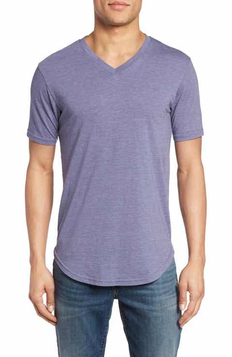 Goodlife Scallop Hem V-Neck T-Shirt