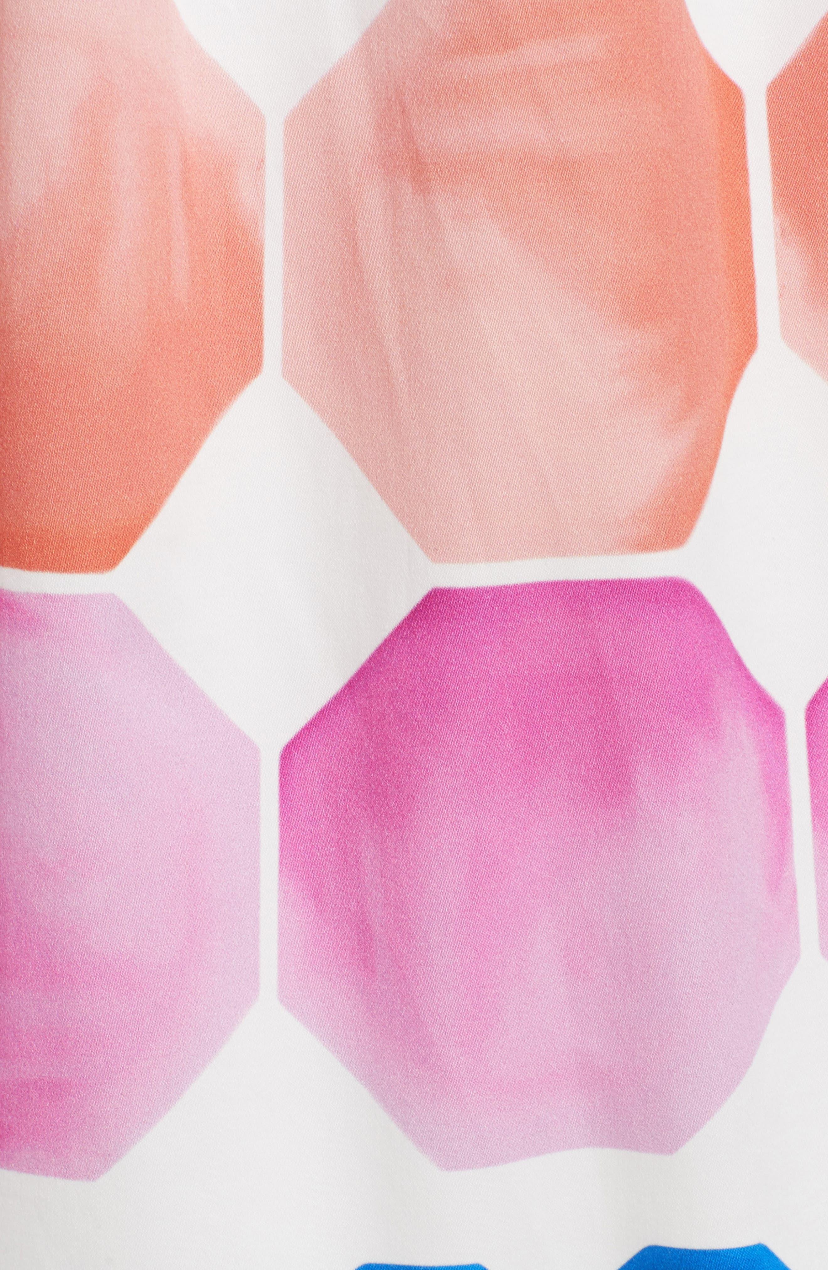Alternate Image 6  - Ted Baker London Serinah Stretch Cotton Midi Dress