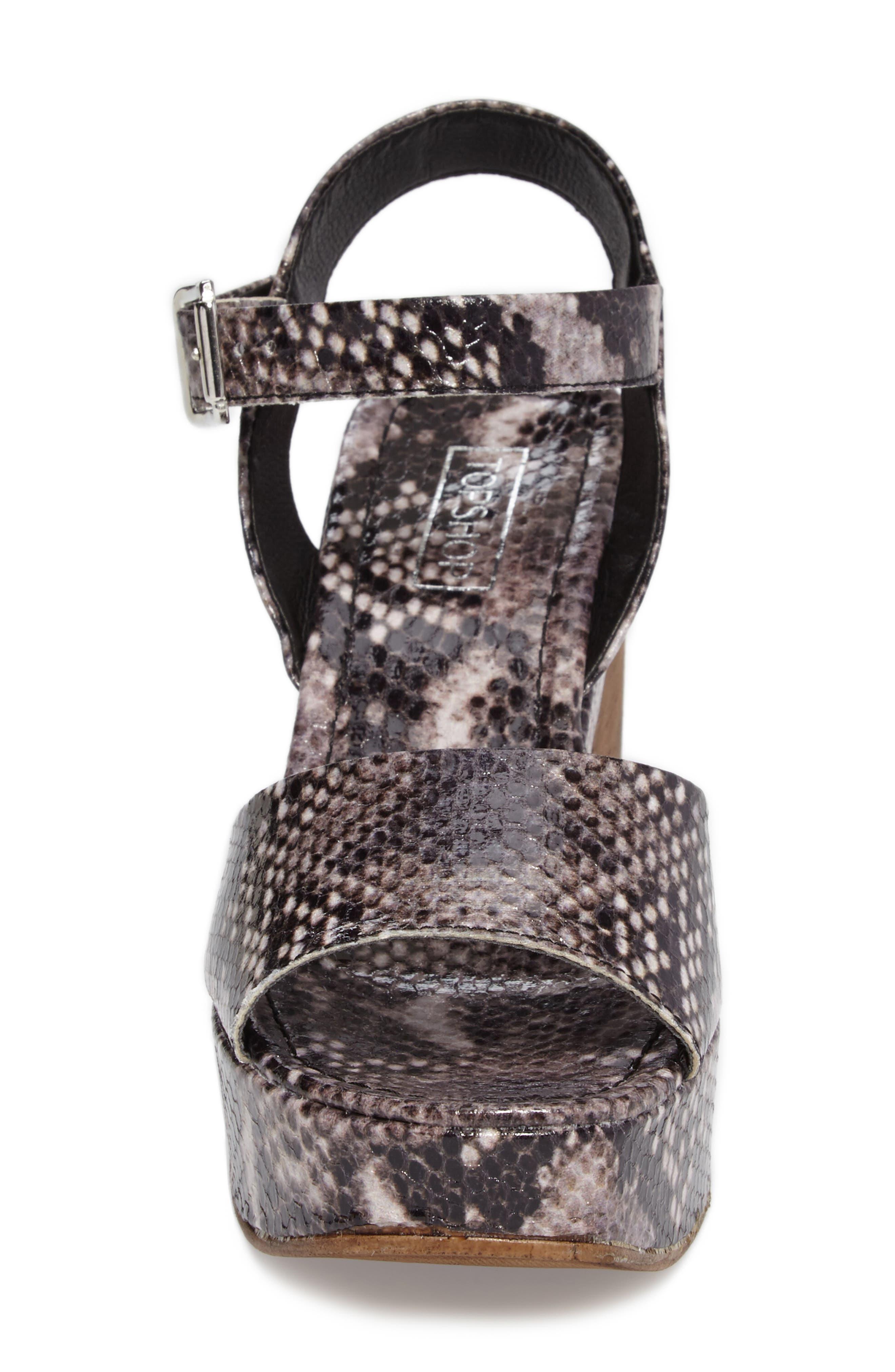Alternate Image 4  - Topshop Violets Platform Sandals (Women)