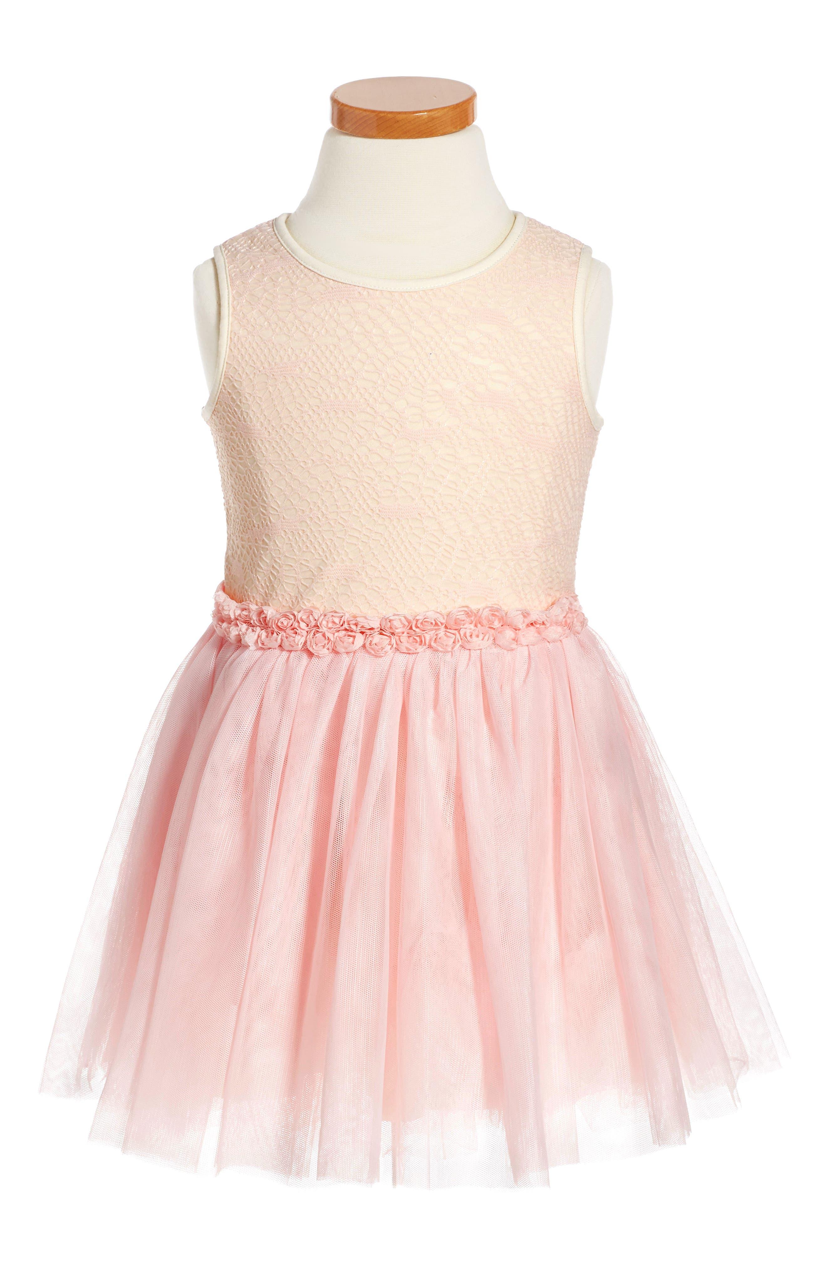 Pippa & Julie Tutu Dress (Toddler Girls & Little Girls)
