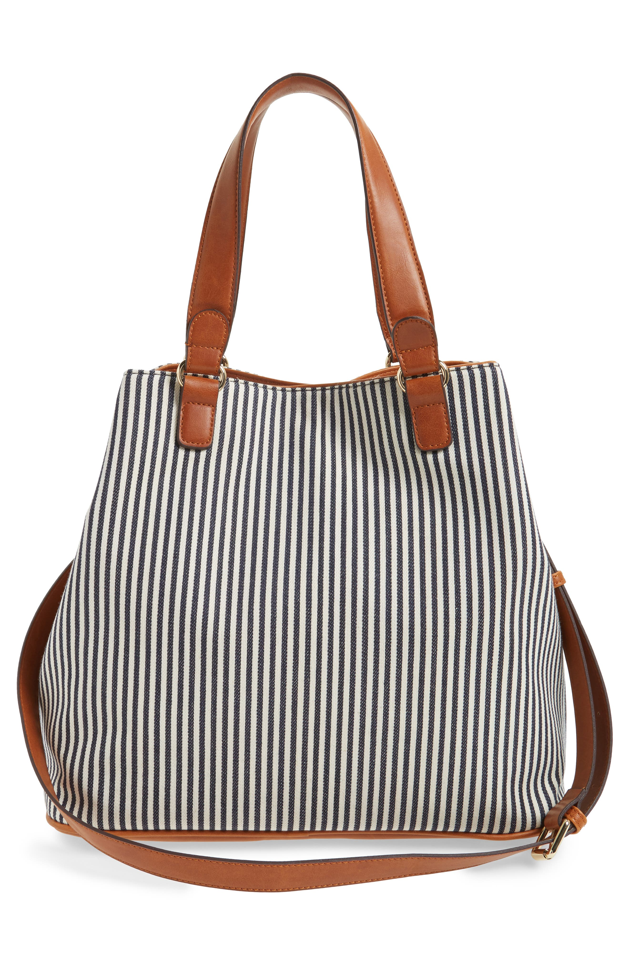Alternate Image 2  - Sole Society 'Nina' Belted Geo Tote