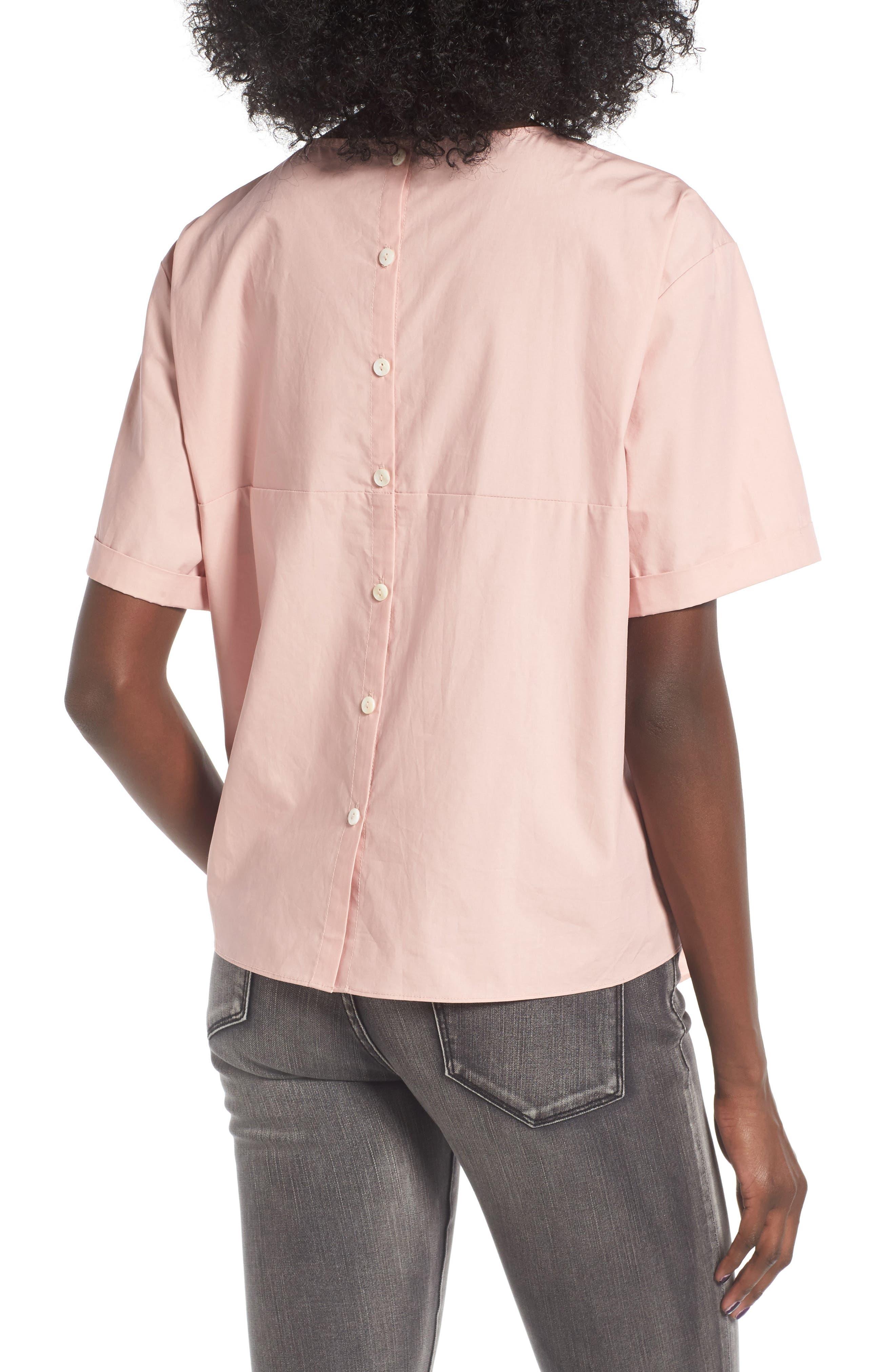 Alternate Image 2  - BP. Tie Front Blouse