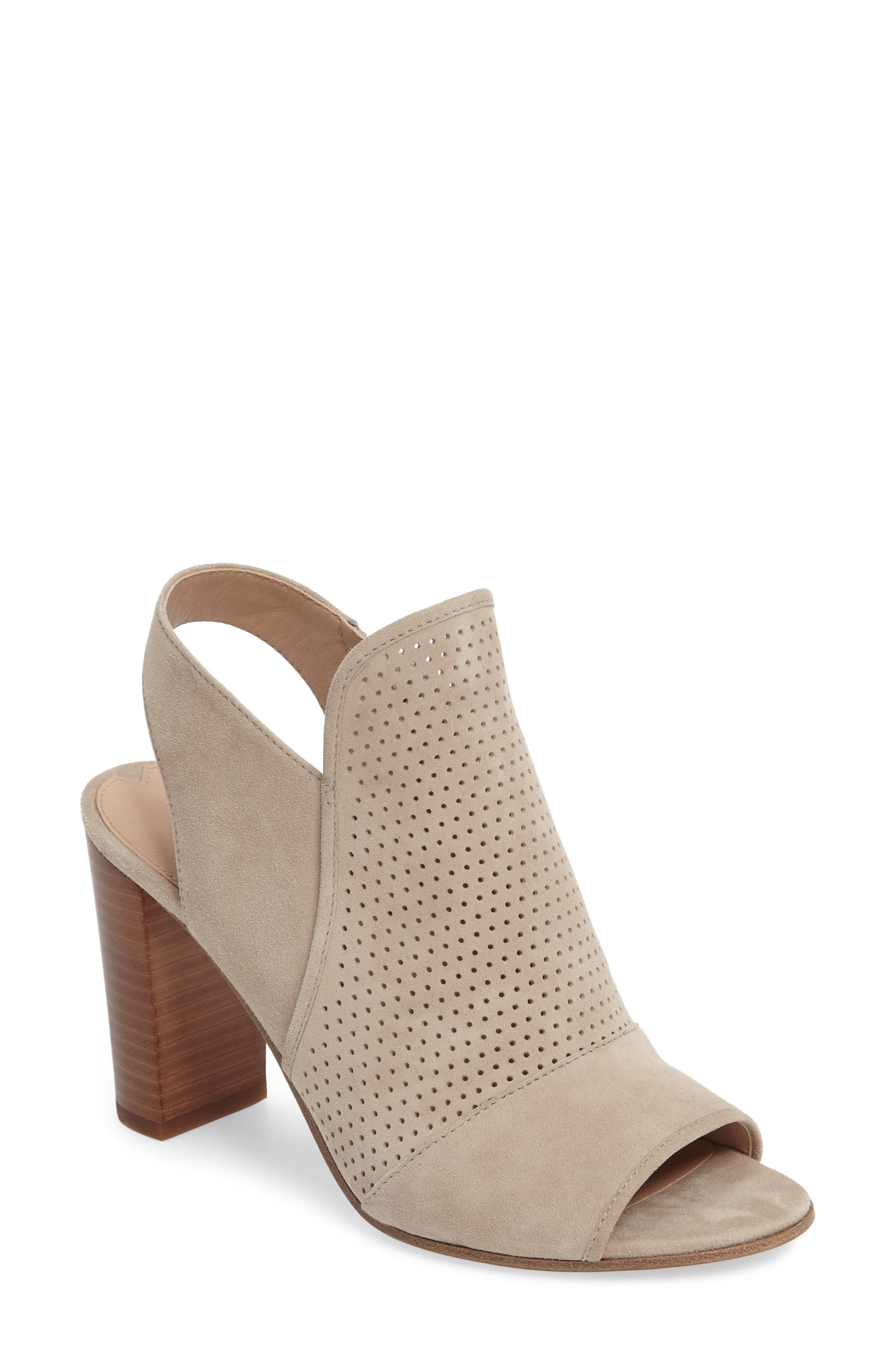Alternate Image 1 Selected - Via Spiga Gaze Block Heel Sandal (Women)