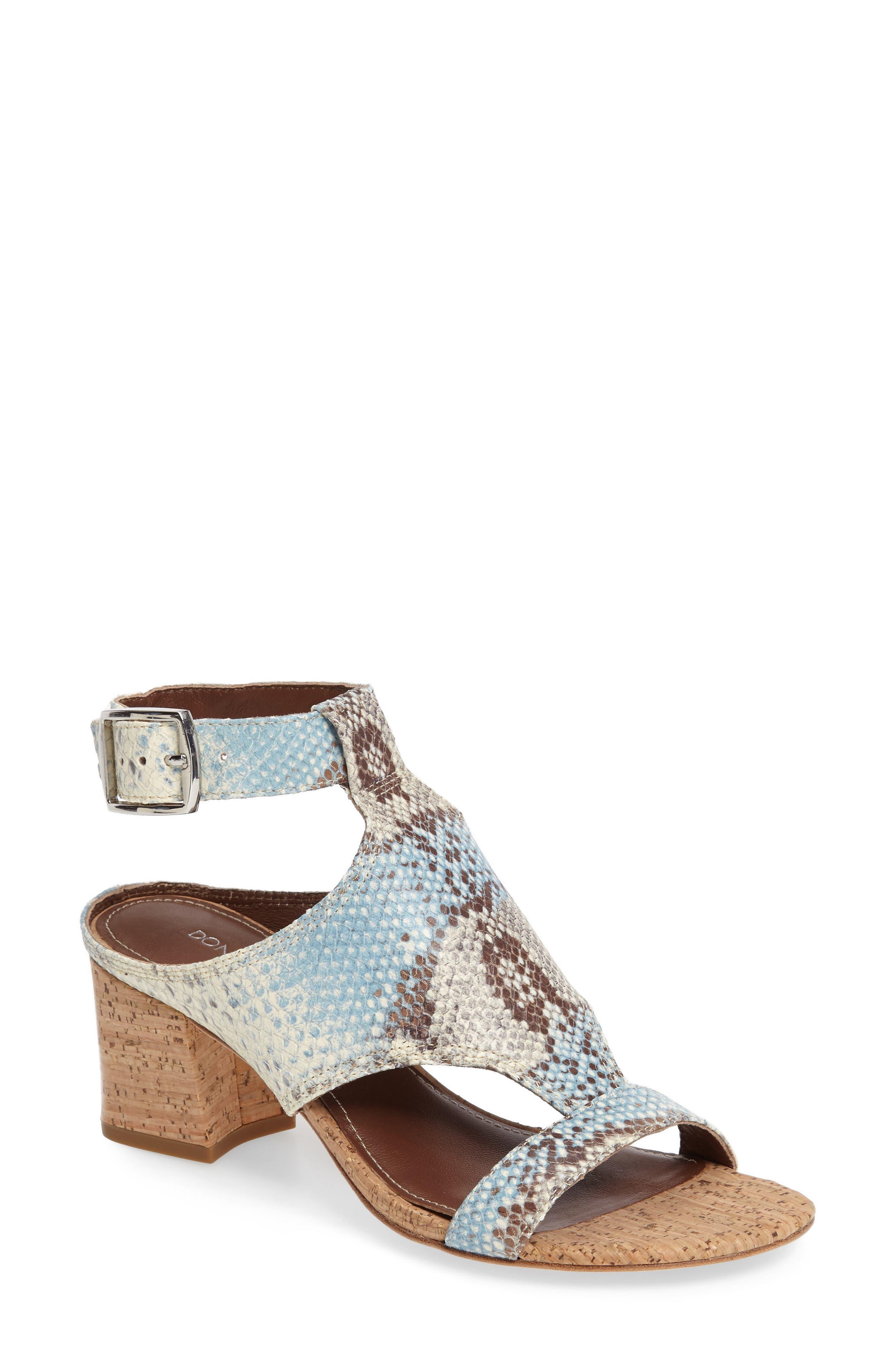 Donald J Pliner Ellee Block Heel Sandal (Women)