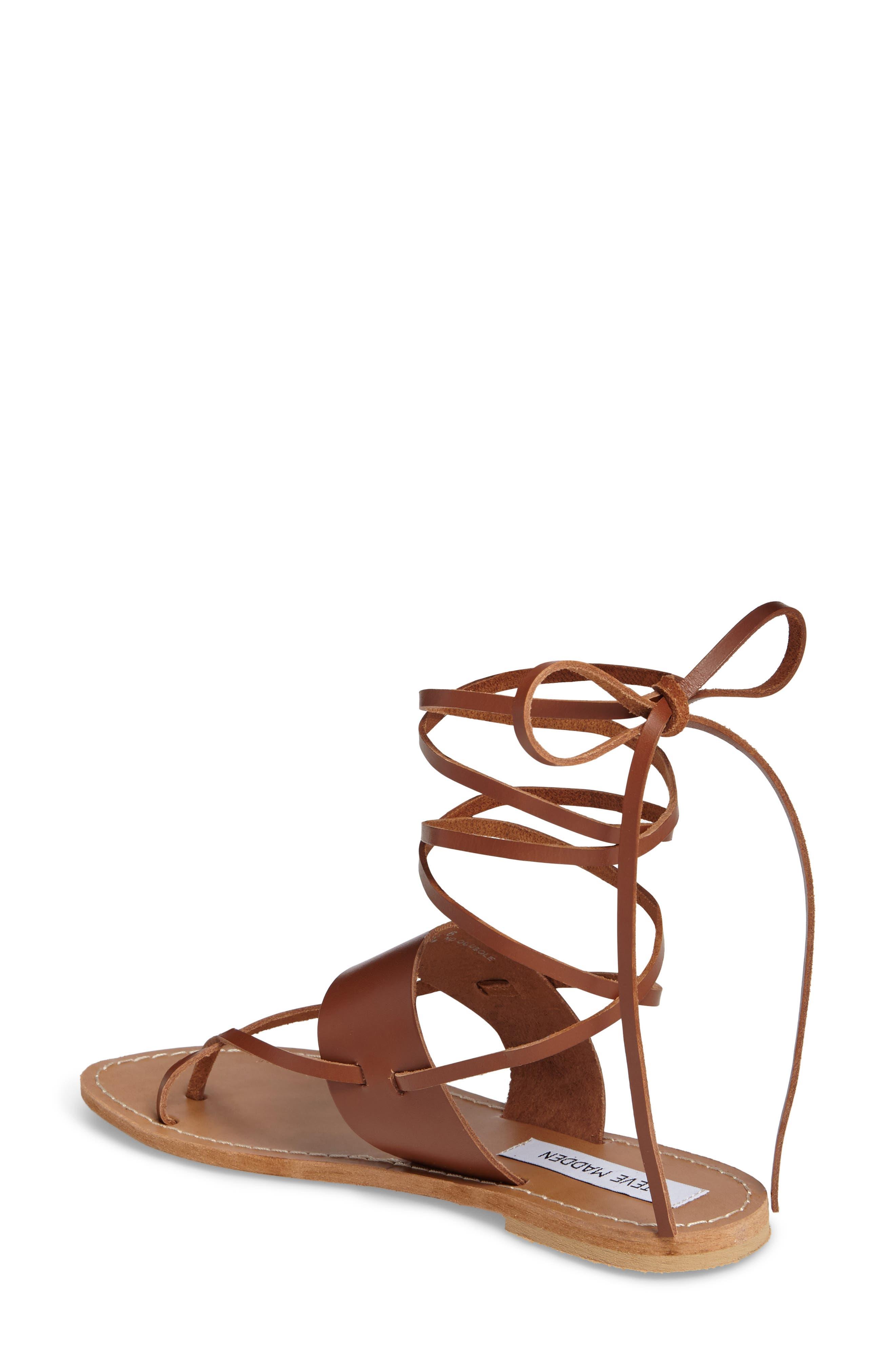 Alternate Image 2  - Steve Madden Bianca Lace-Up Sandal (Women)