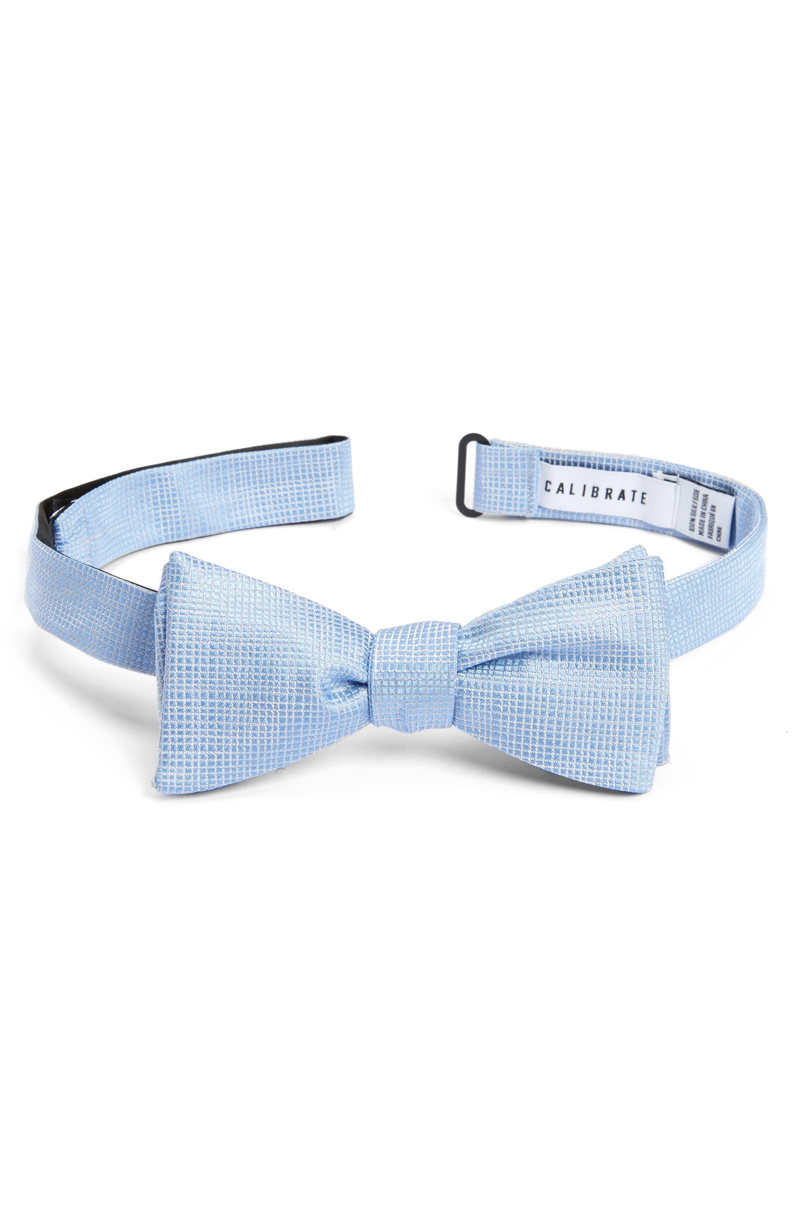 Calibrate Saffron Silk Bow Tie