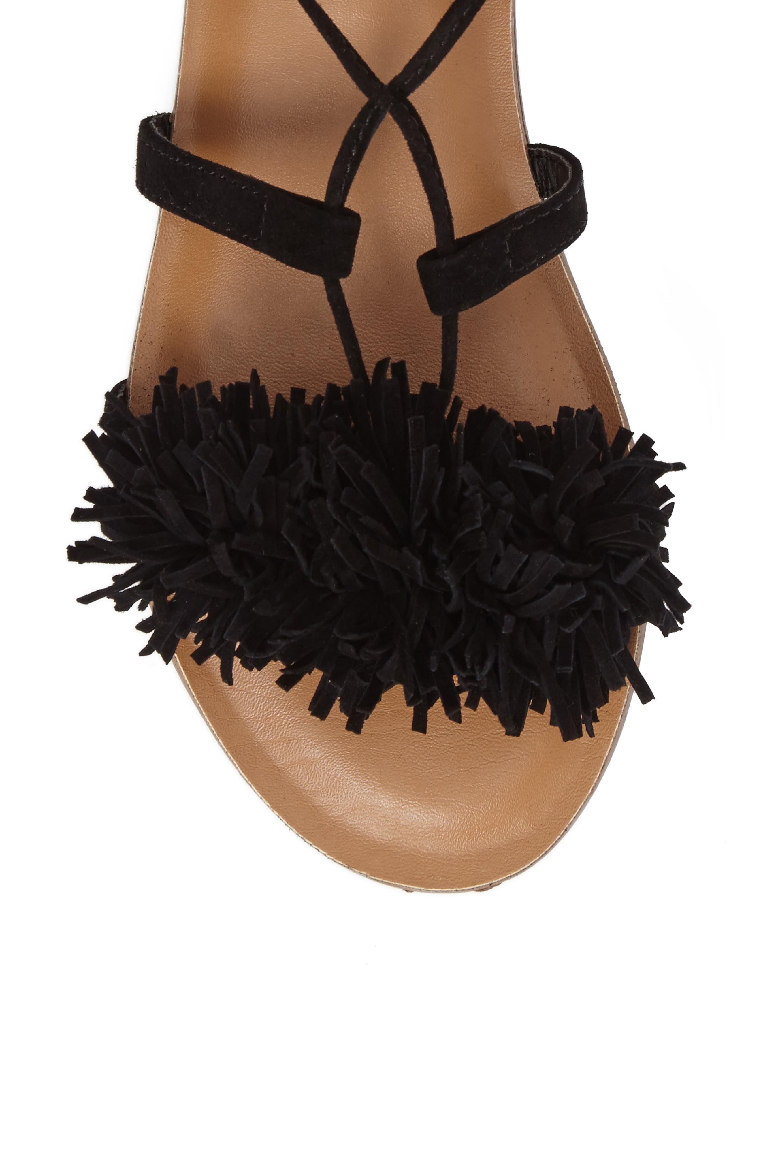 Alternate Image 5  - Steve Madden Swizzle Lace-Up Sandal (Women)