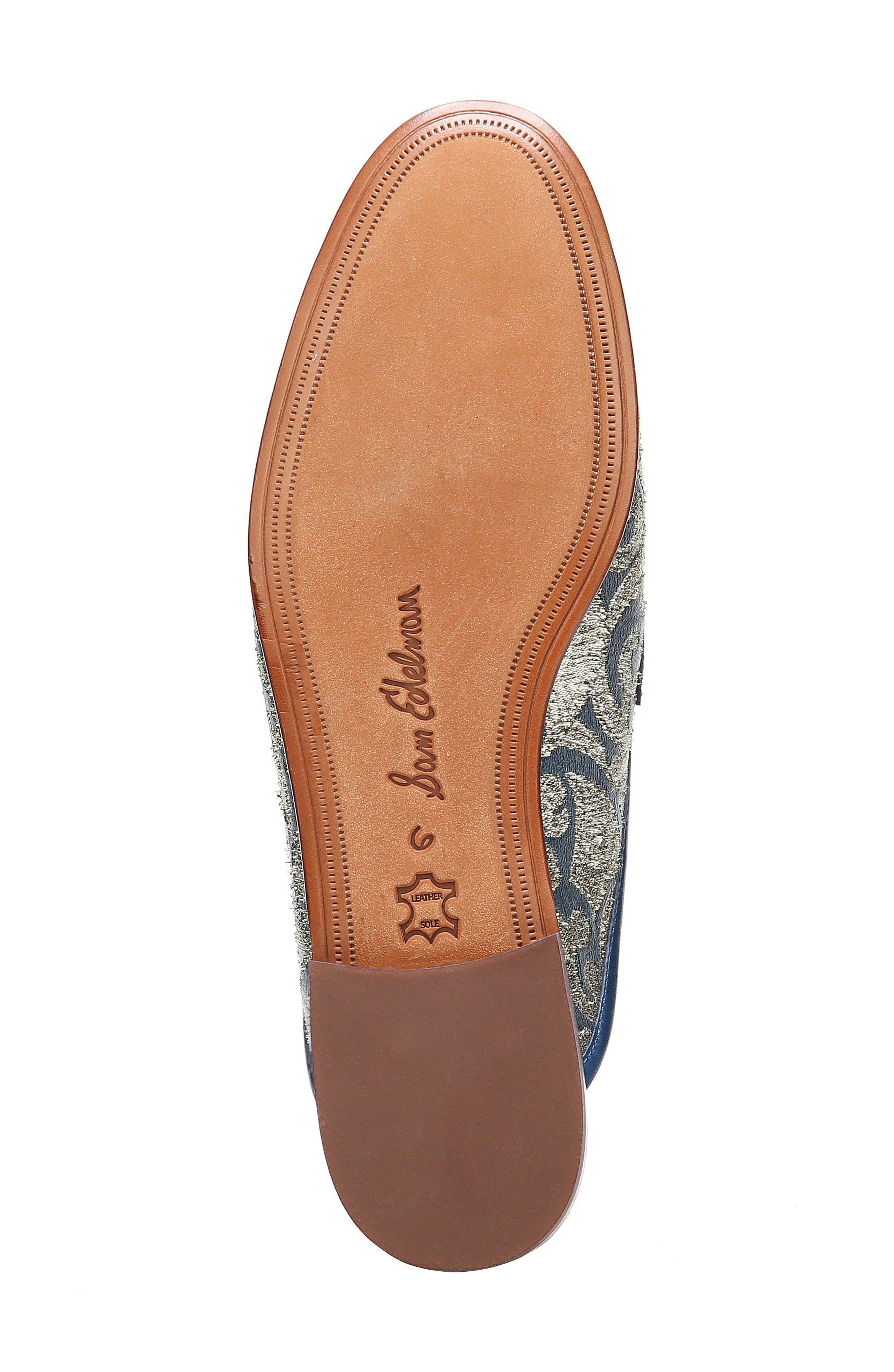 Alternate Image 6  - Sam Edelman Paris Backless Tassel Loafer (Women)
