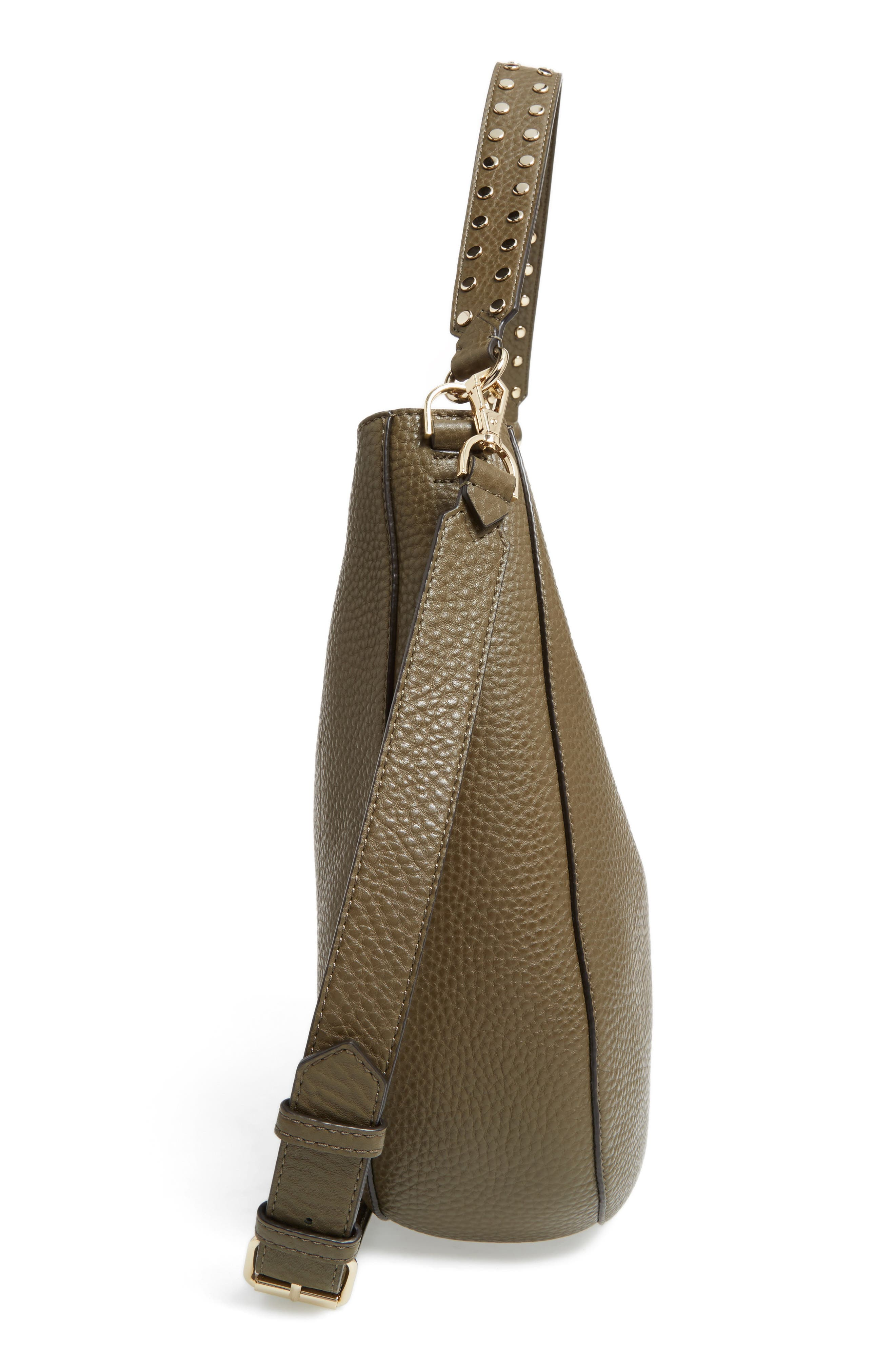 Alternate Image 5  - Rebecca Minkoff Unlined Convertible Leather Hobo (Nordstrom Exclusive)