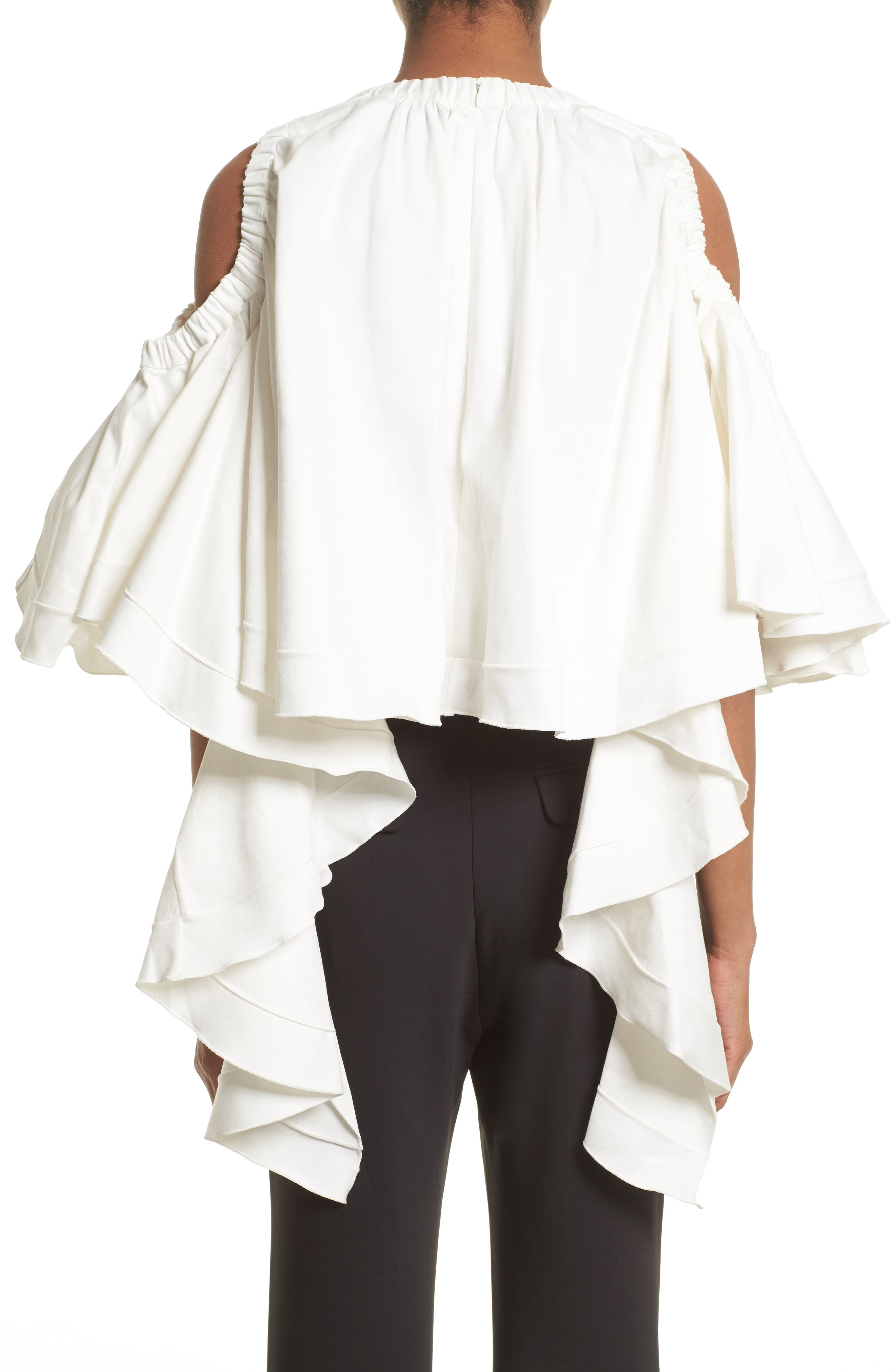 Alternate Image 2  - ELLERY Baby Cold Shoulder Top