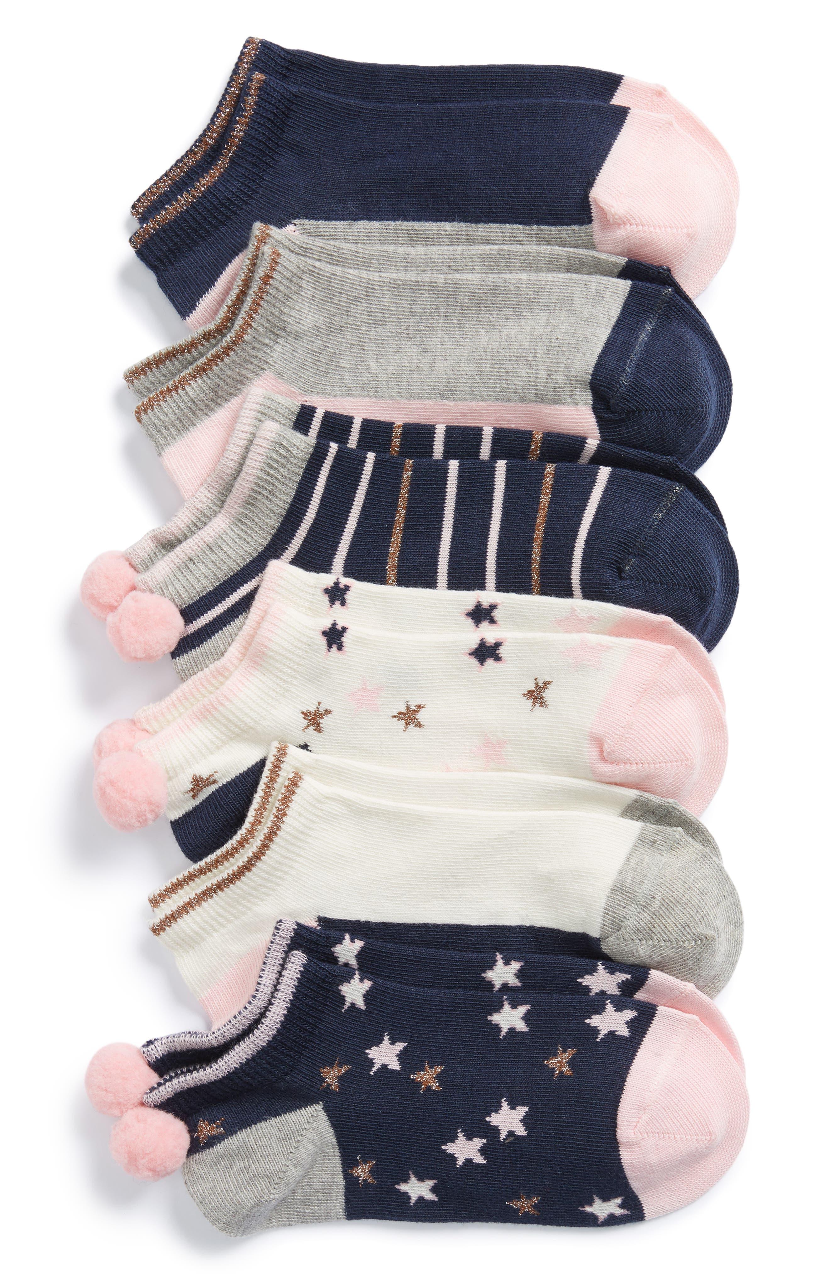 Tucker + Tate Assorted 6-Pack Socks (Toddler, Little Kid & Big Kid)