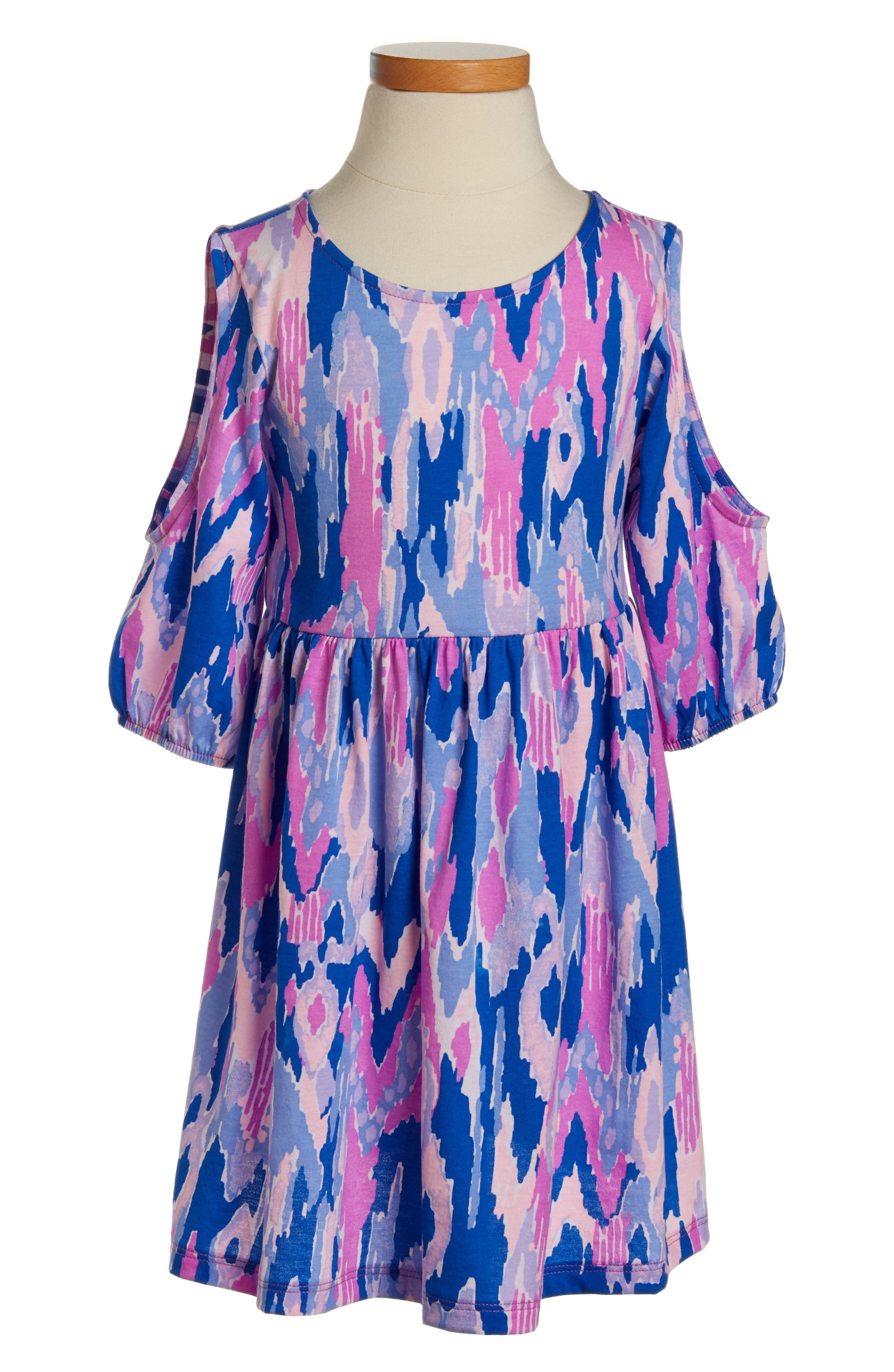 Lilly Pulitzer® Linn Cold Shoulder Dress (Toddler Girls, Little Girls & Big Girls)