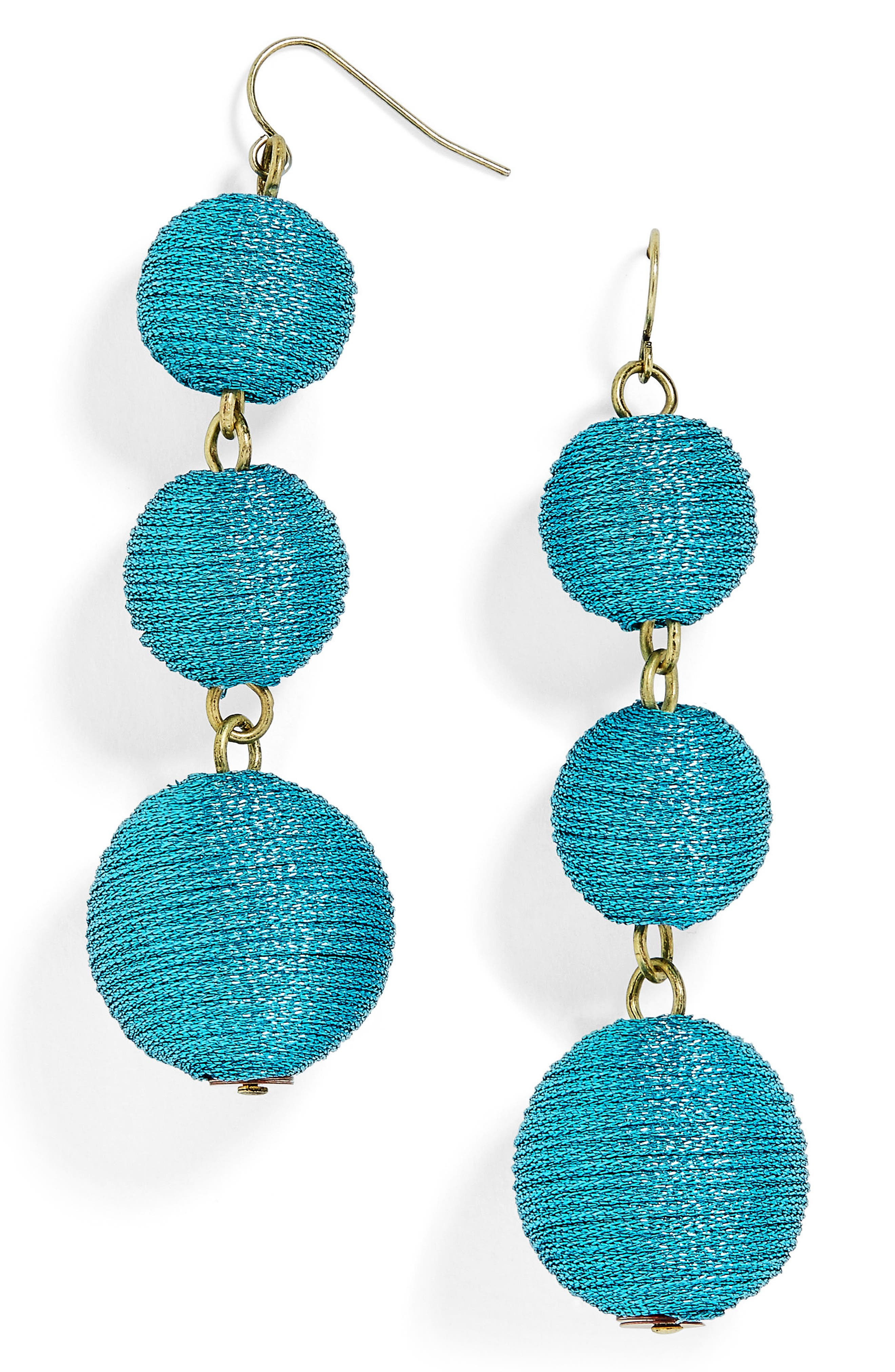 BaubleBar Shimmer Crispin Drop Earrings