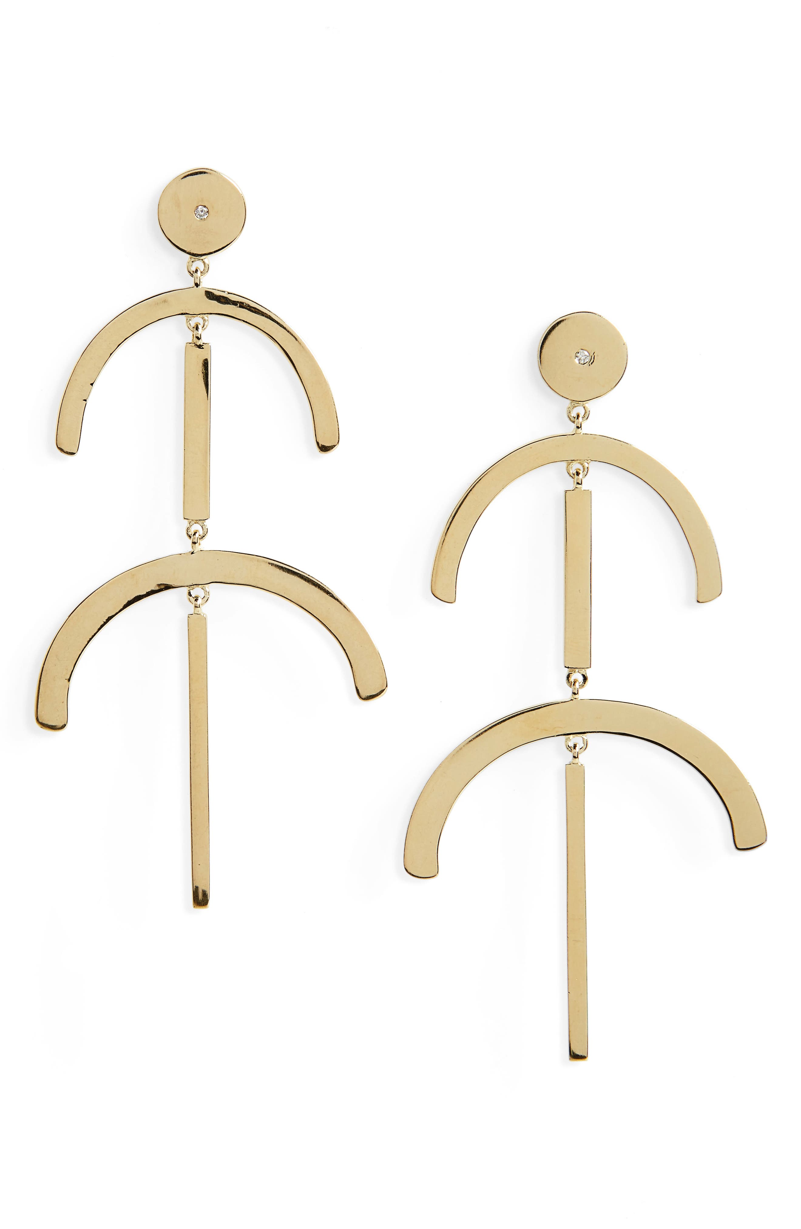 Elizabeth and James Rosa Lulu Drop Earrings