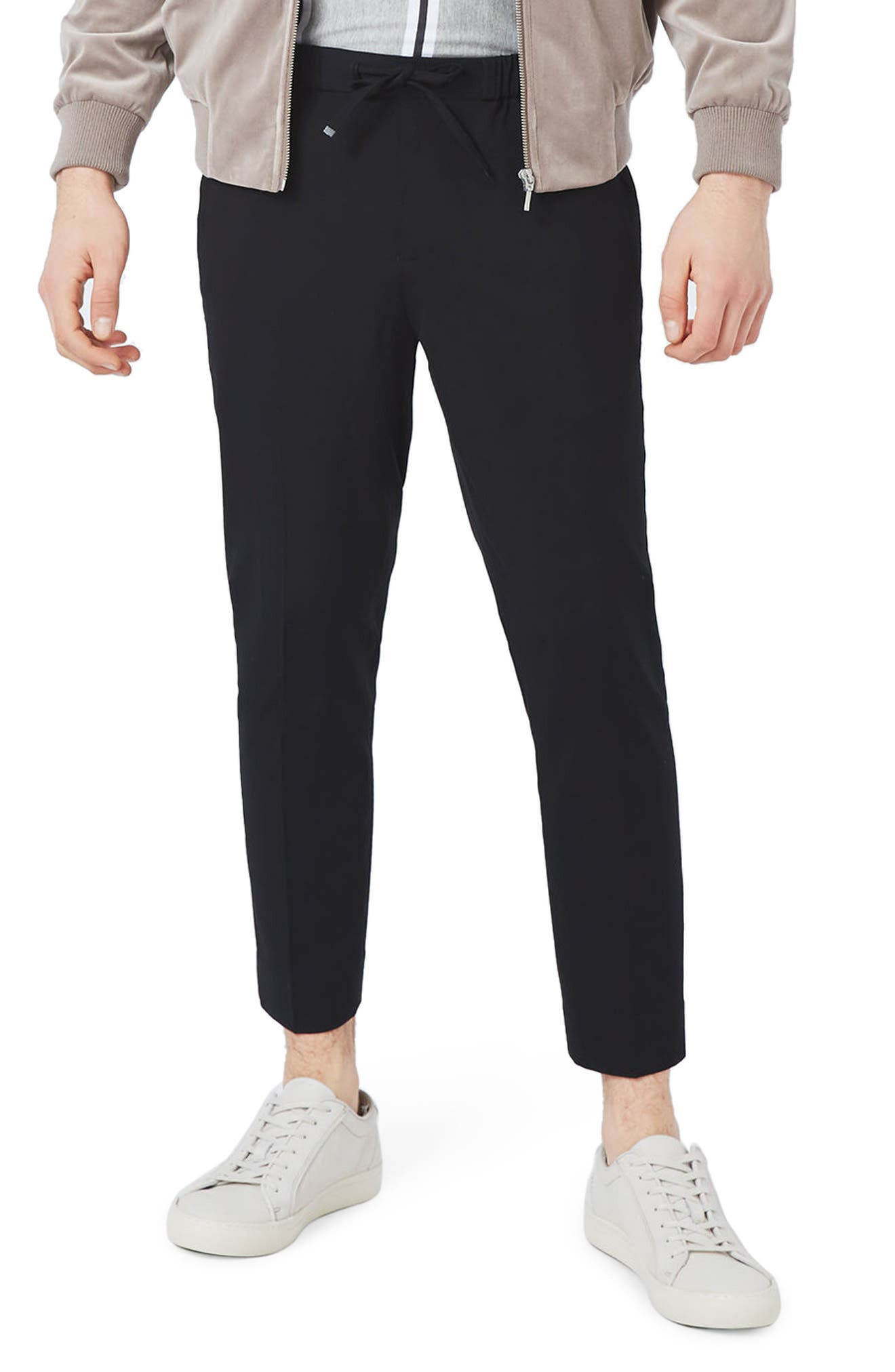 Topman Cropped Smart Jogger Pants