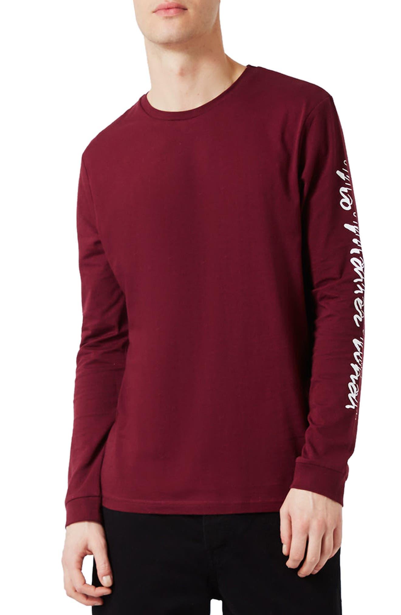 Topman No Matter What Graphic T-Shirt