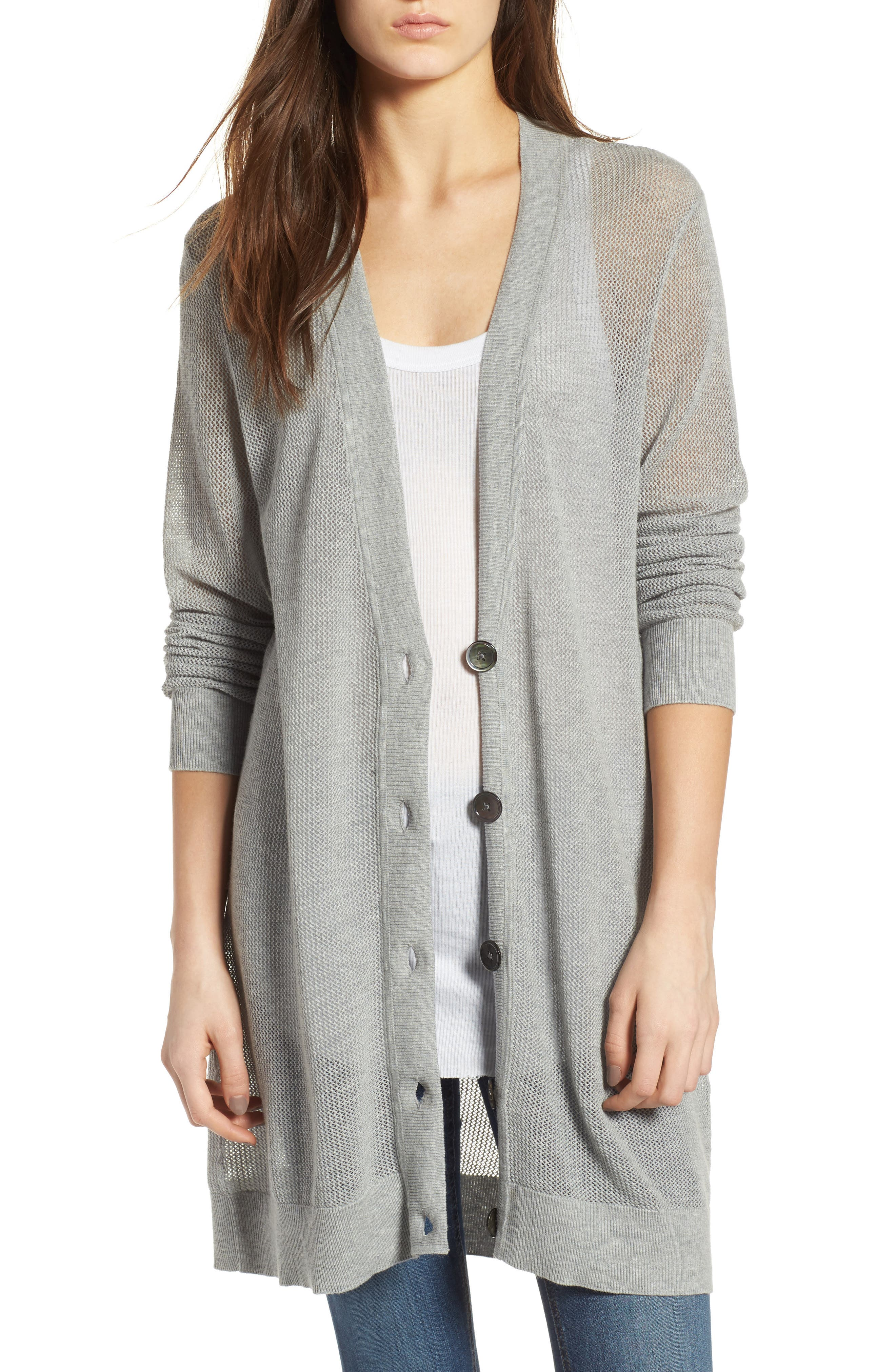 AG The Cameron Cotton & Cashmere Cardigan