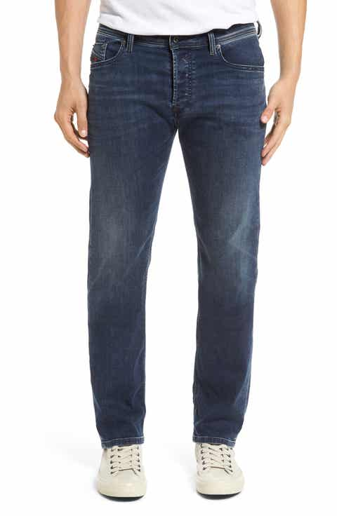 DIESEL® Waykee Straight Leg Jeans (0684H)
