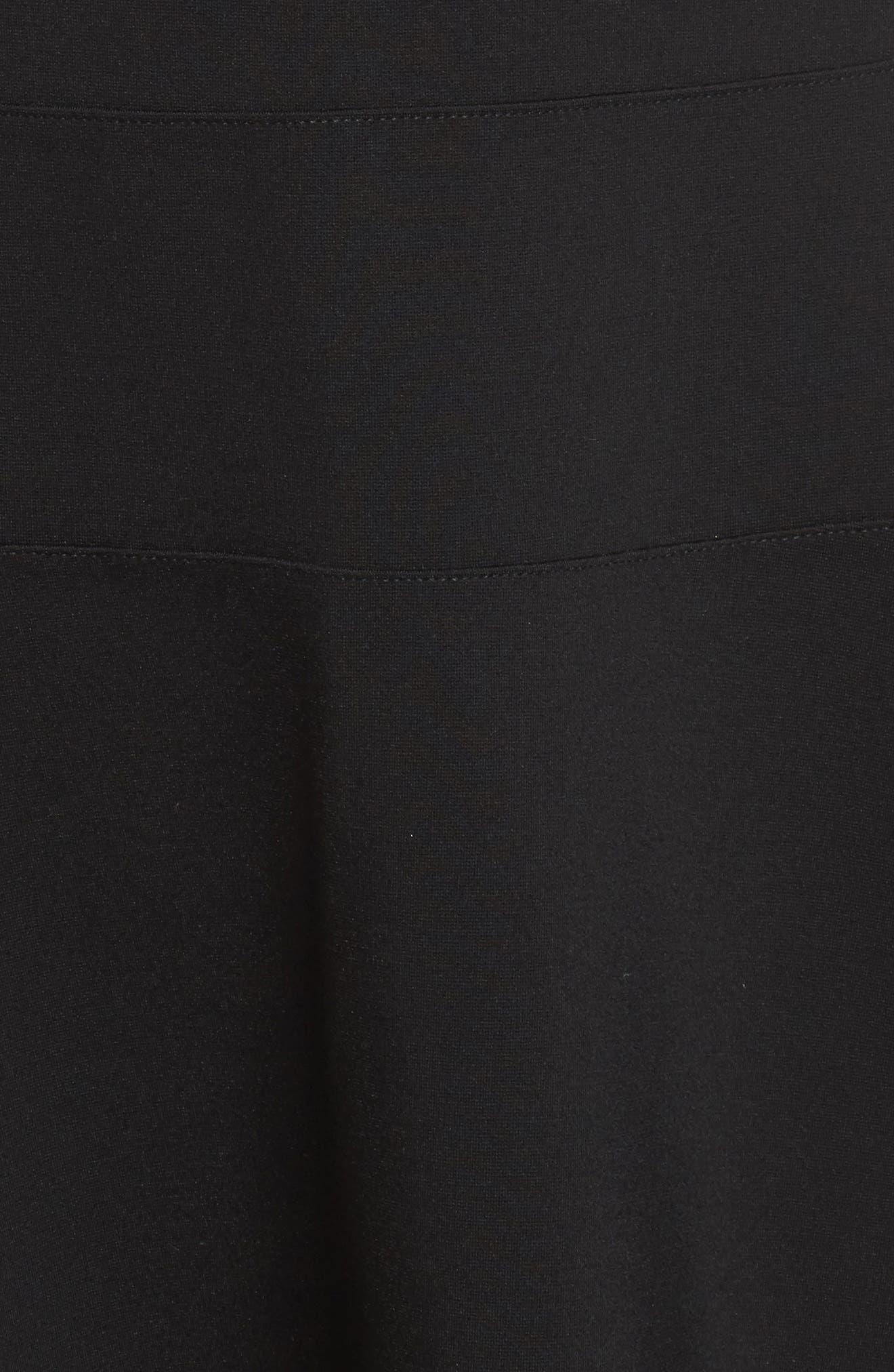 Alternate Image 5  - Halogen® Ponte Fit & Flare Dress (Regular & Petite)