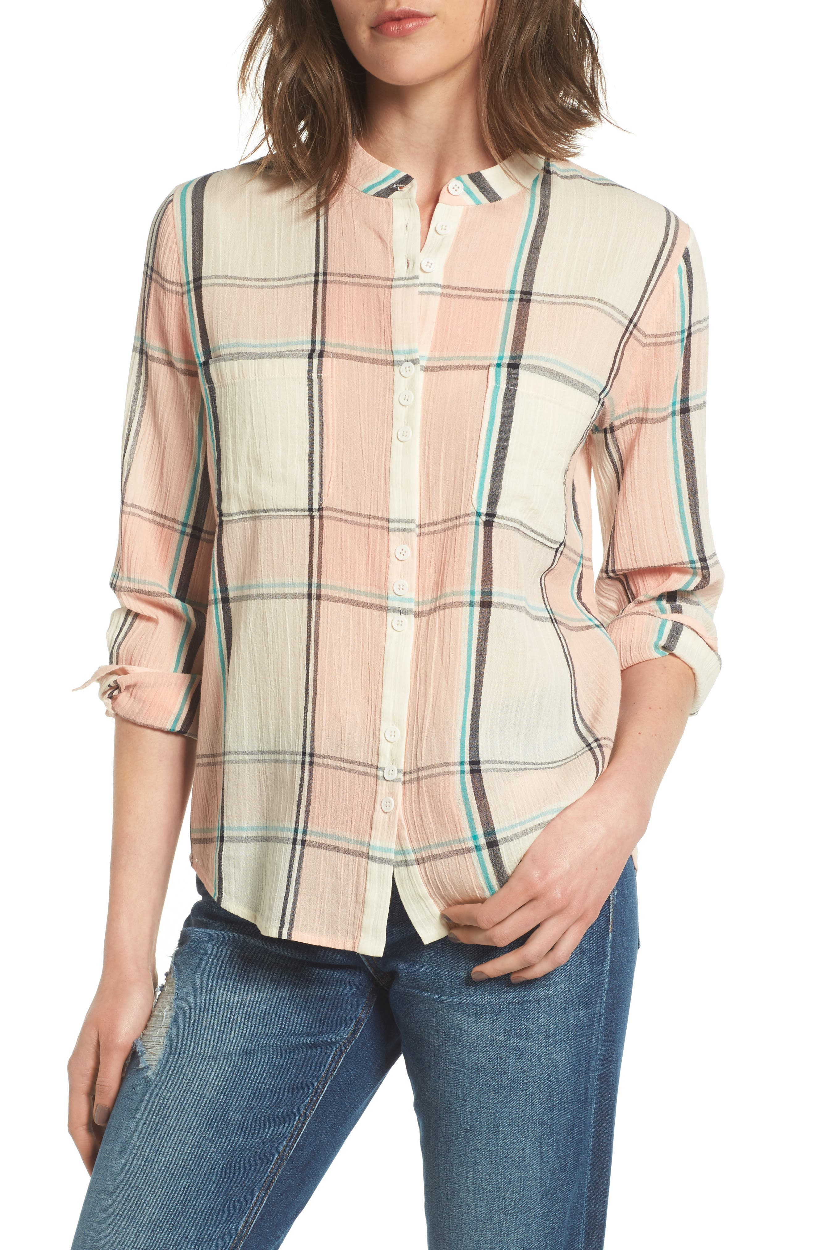 Joe's Genevieve Plaid Shirt
