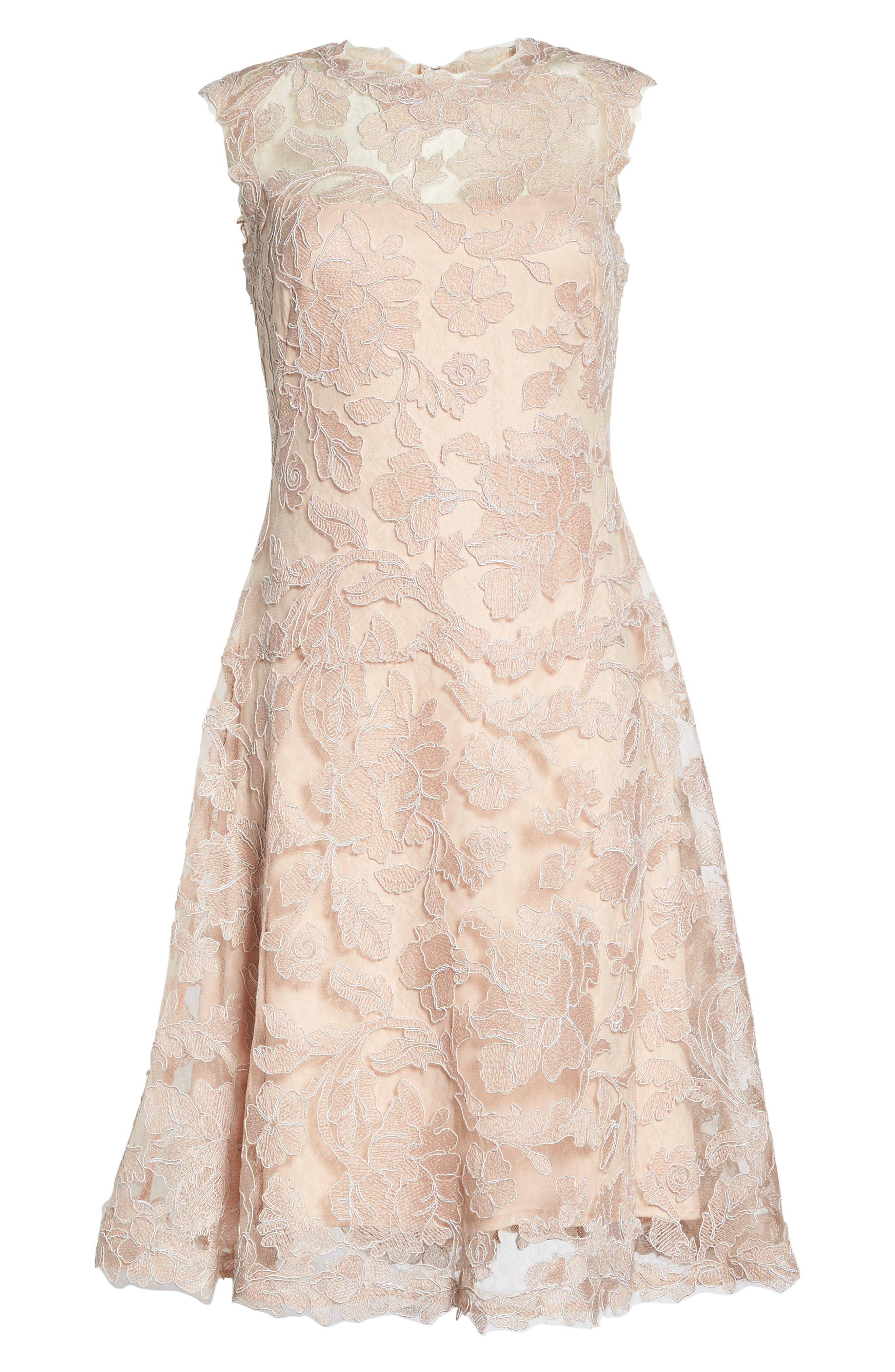 Alternate Image 6  - Tadashi Shoji Fit & Flare Dress