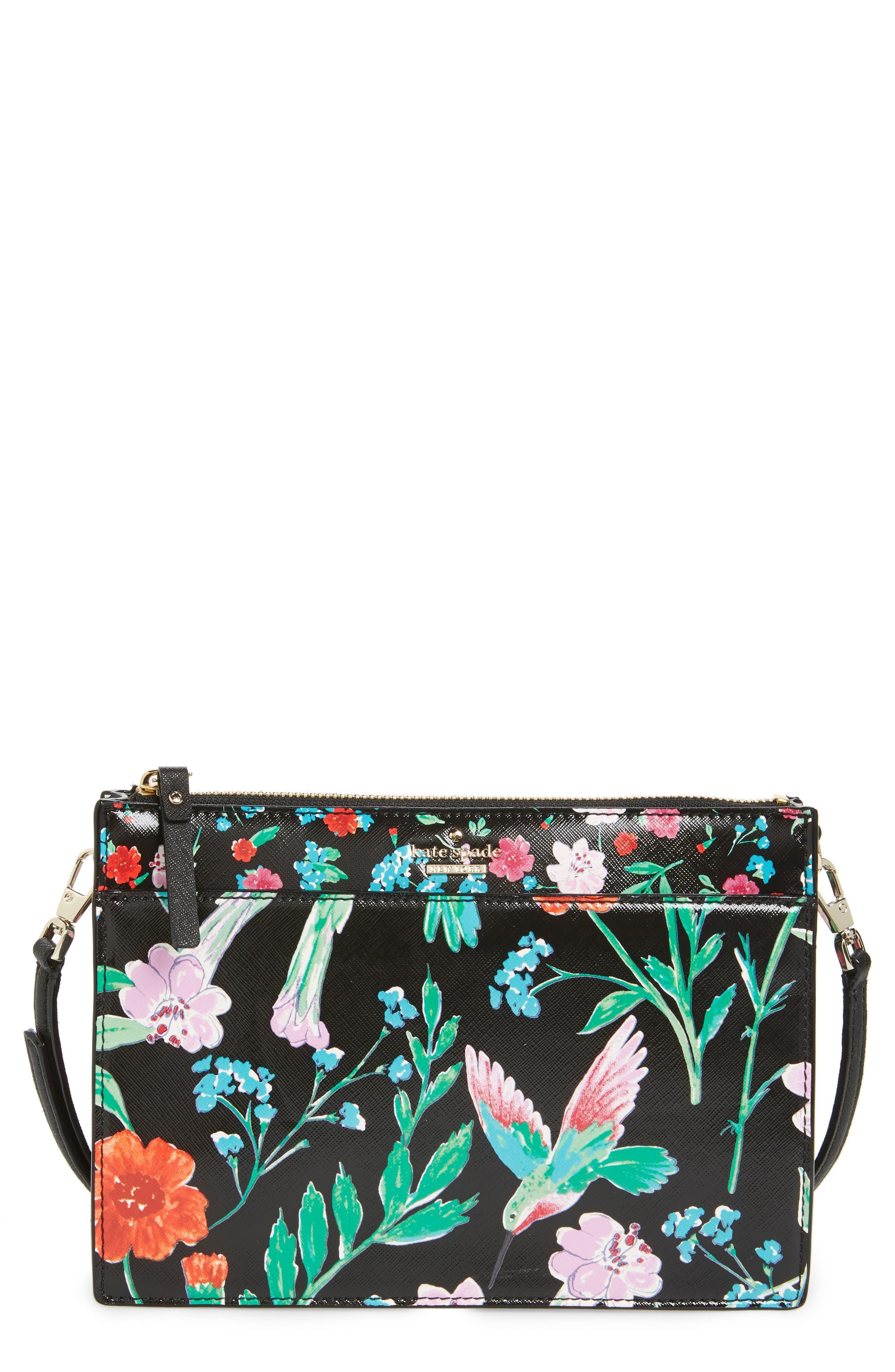 kate spade new york cameron street - jardin clarise faux leather crossbody bag