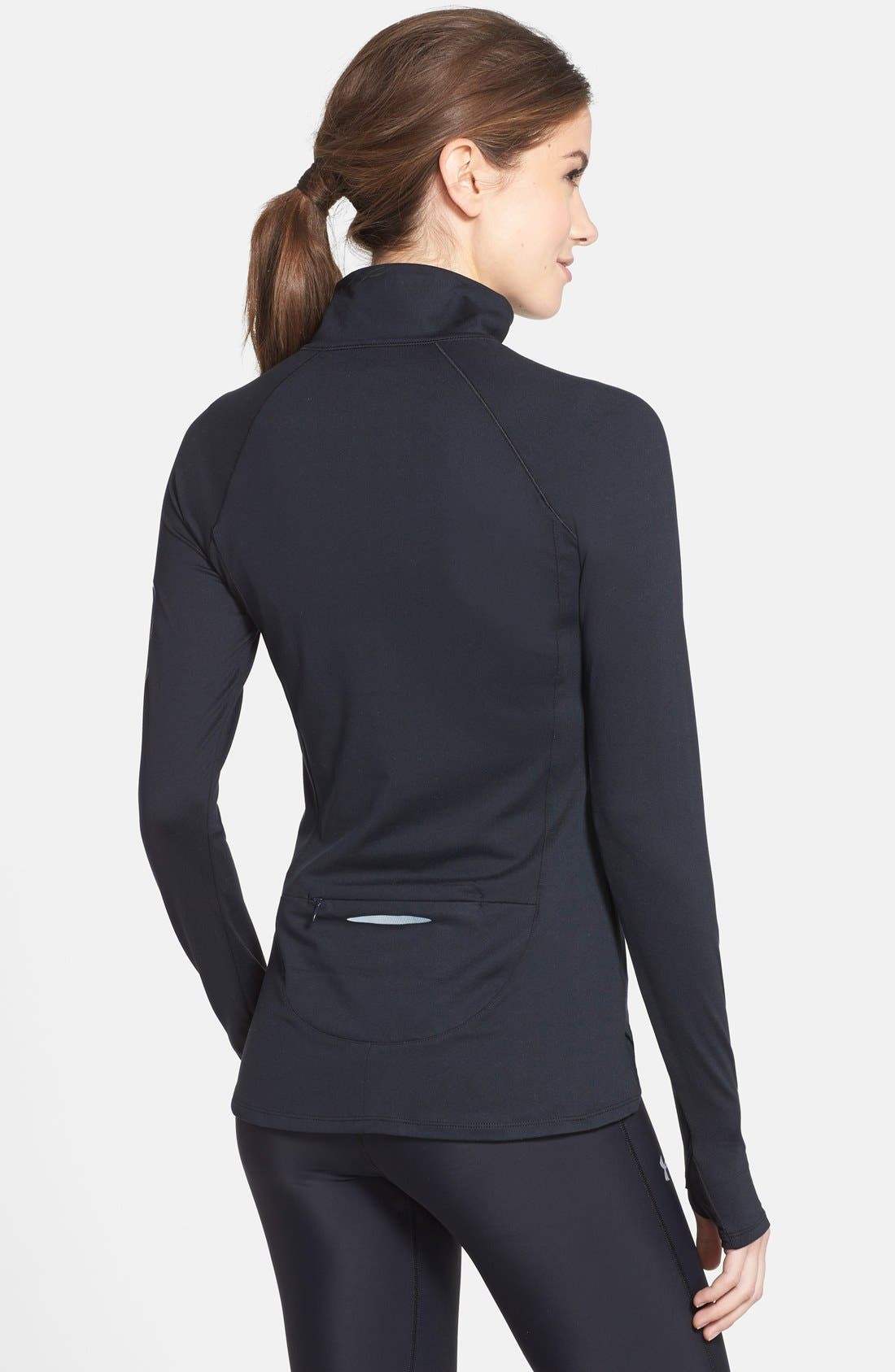 Alternate Image 2  - Under Armour 'Fly Fast' Half Zip Long Sleeve Top