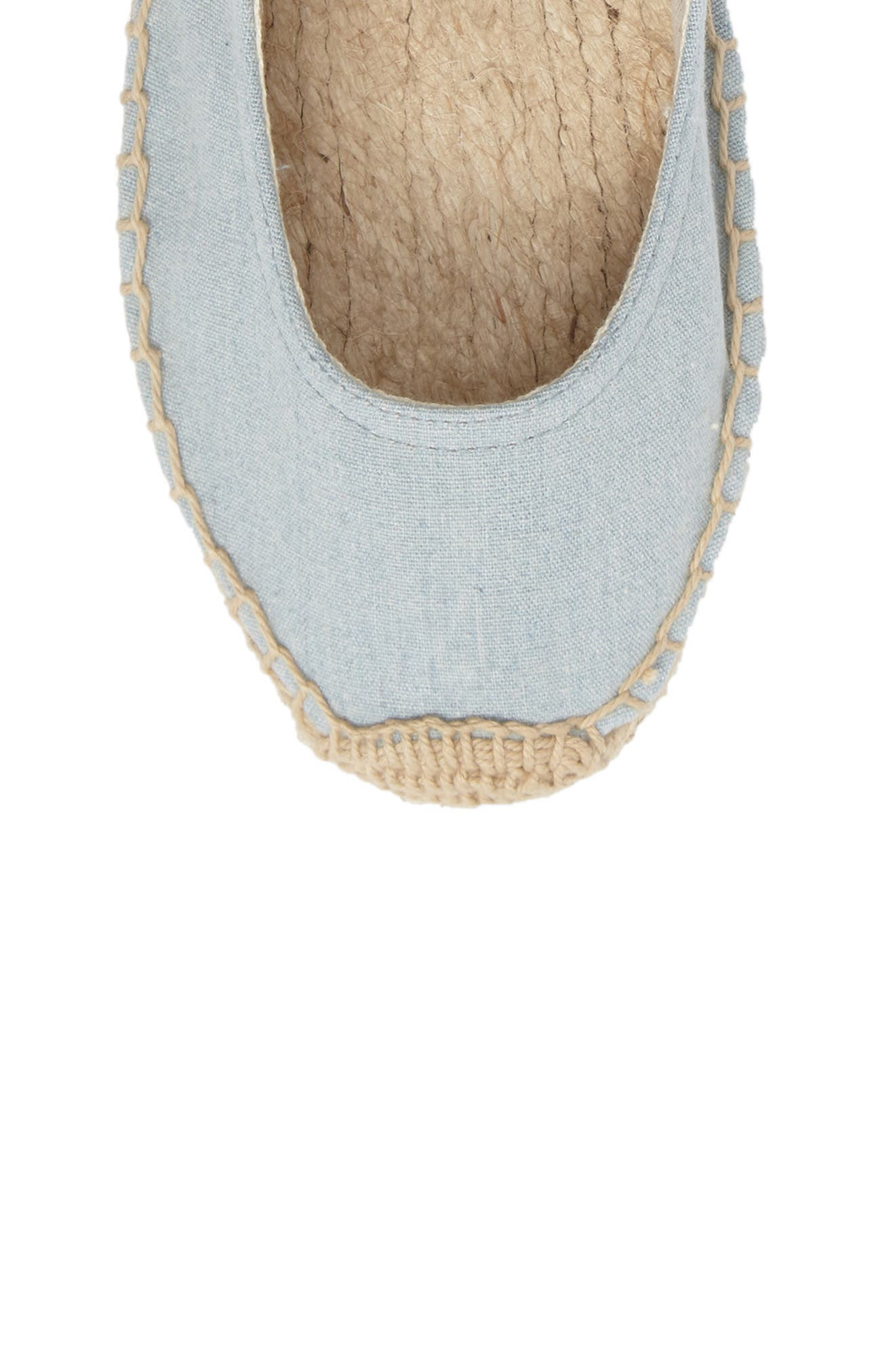Alternate Image 5  - Soludos Ankle Tie Espadrille Flat (Women)