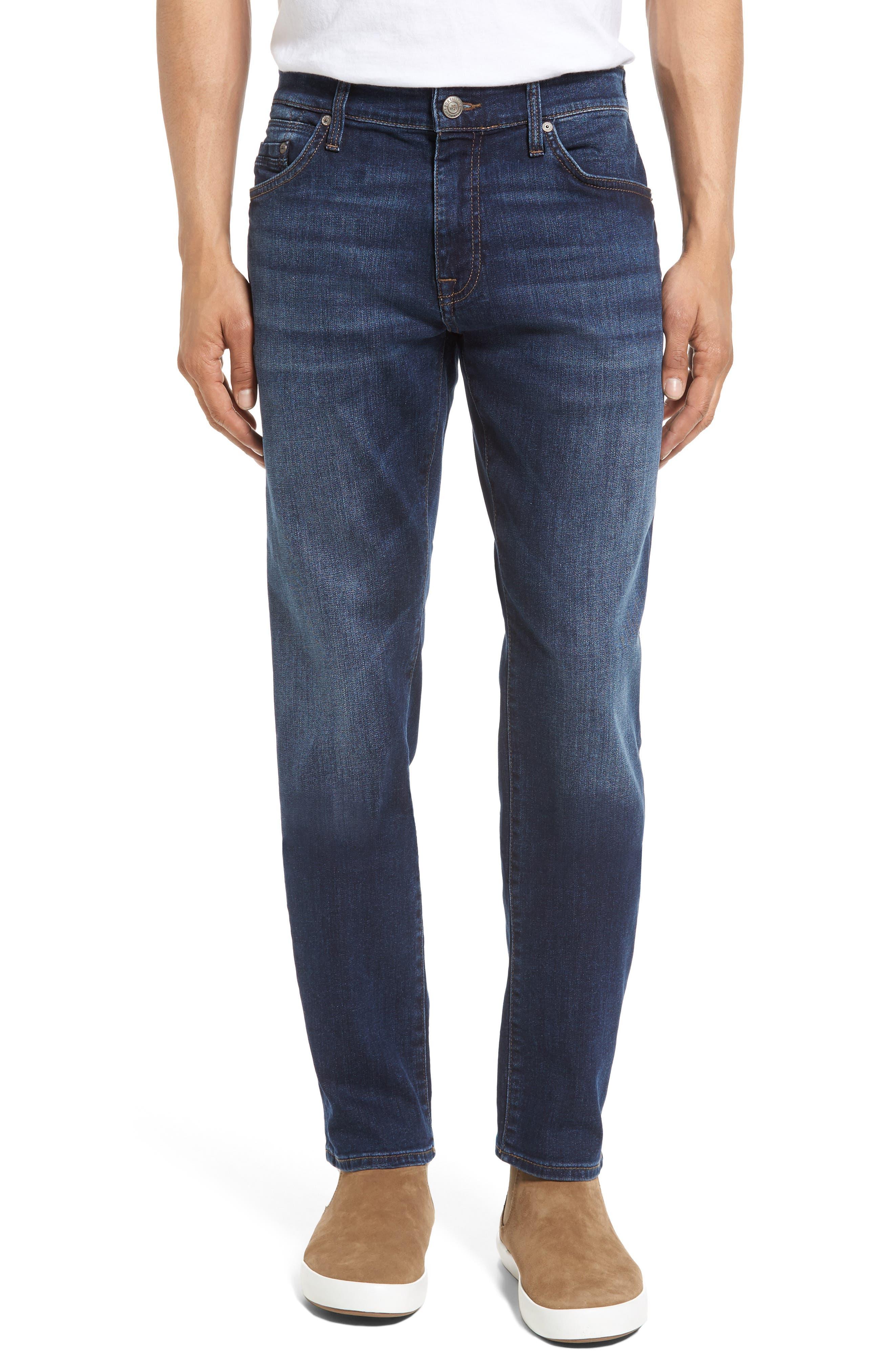 Mavi Jeans Marcus Slim Straight Leg Jeans (Dark Georgetown)