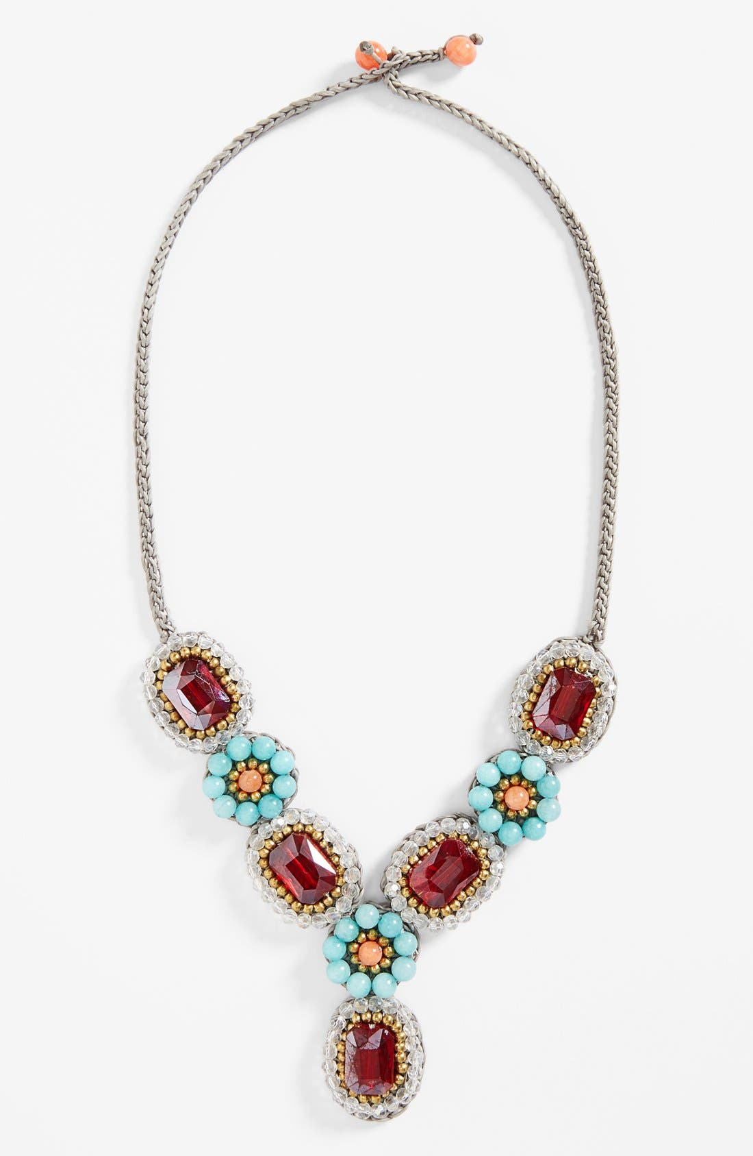 Main Image - Panacea Crystal Quartz Statement Necklace