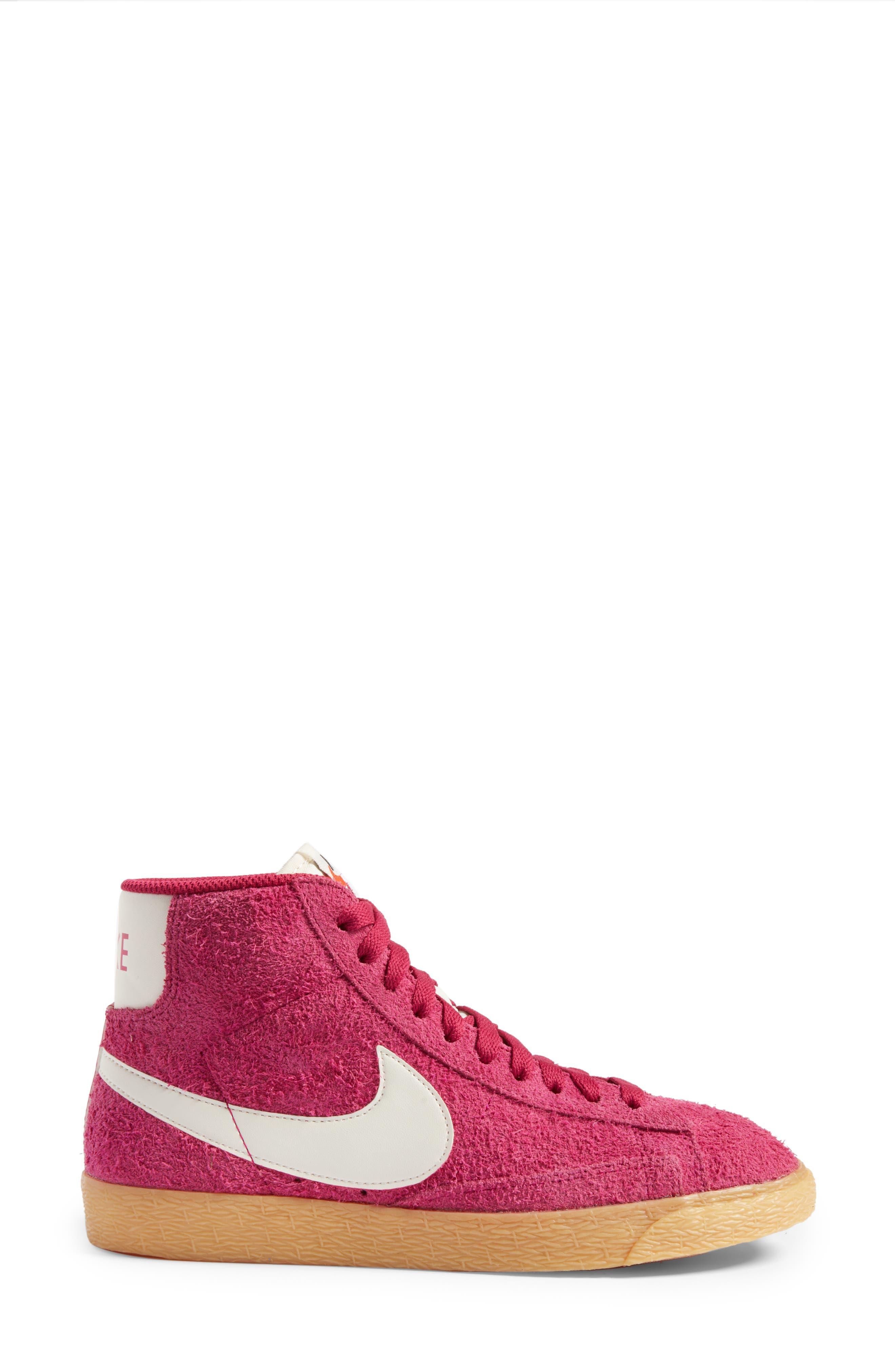 Alternate Image 3  - Nike 'Blazer' Vintage High Top Basketball Sneaker (Women)