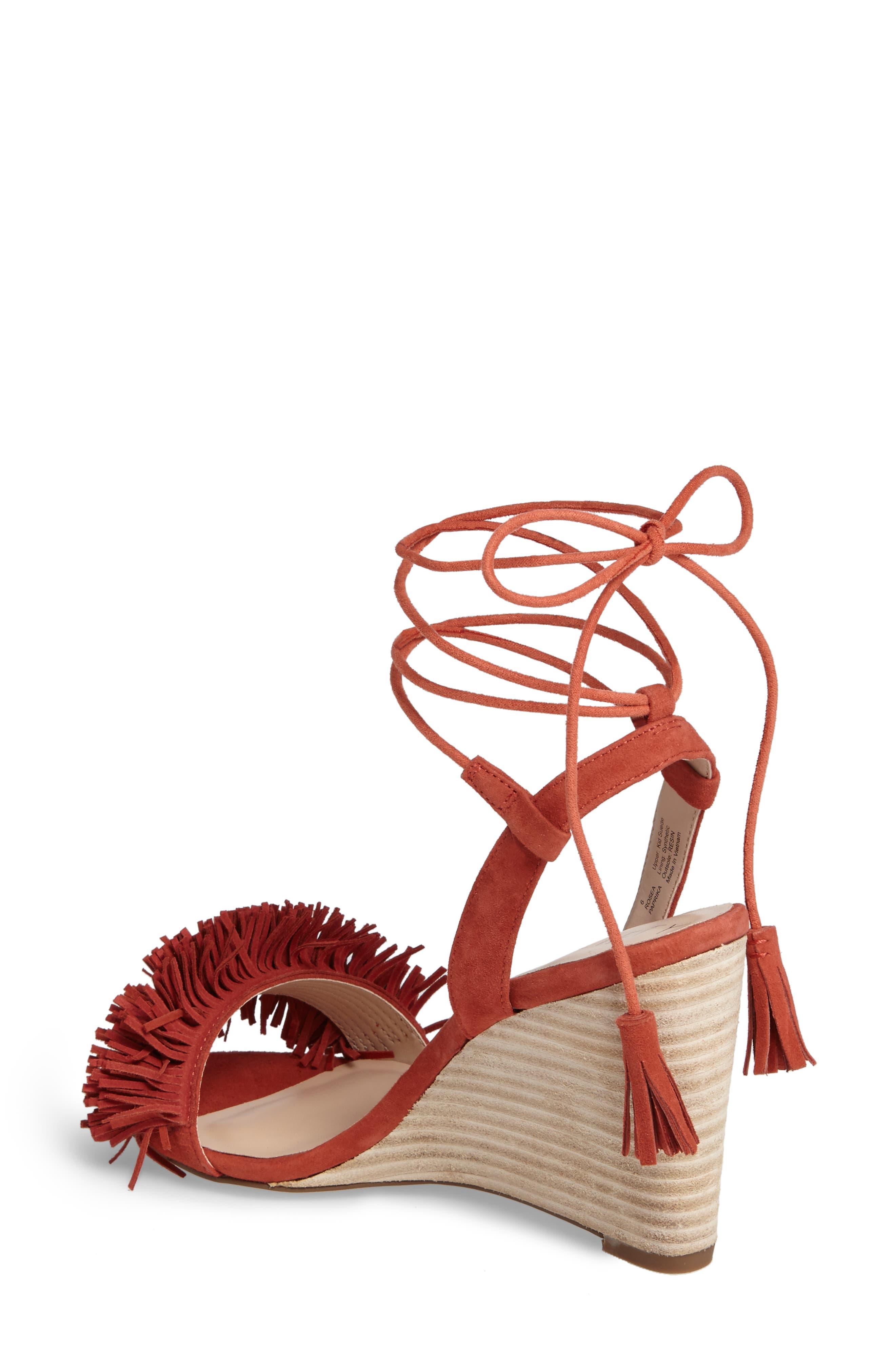 Alternate Image 2  - Sole Society Rosea Ankle Wrap Sandal (Women)