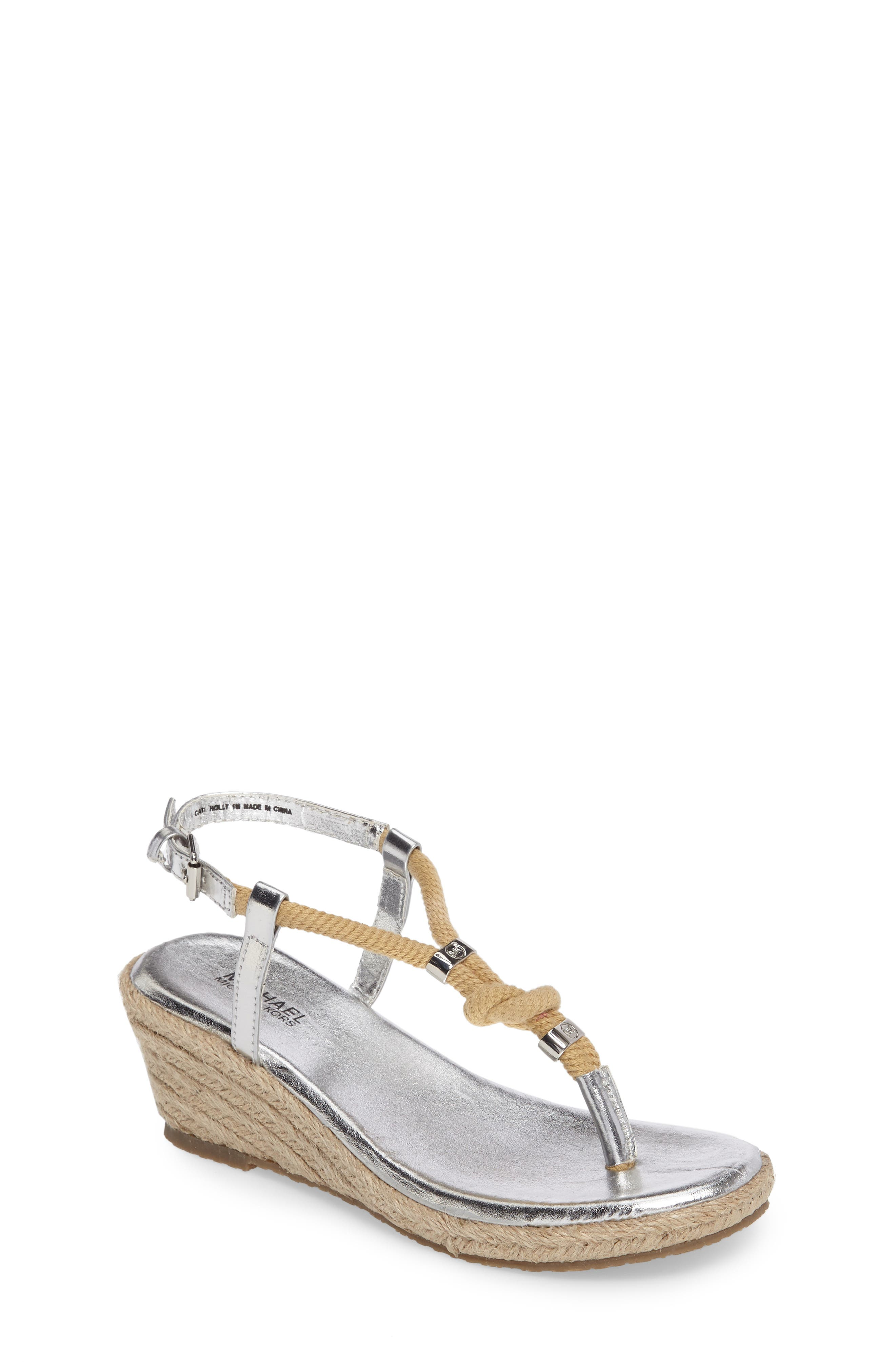 MICHAEL Michael Kors Cate Holly Wedge (Toddler, Little Kid & Big Kid)