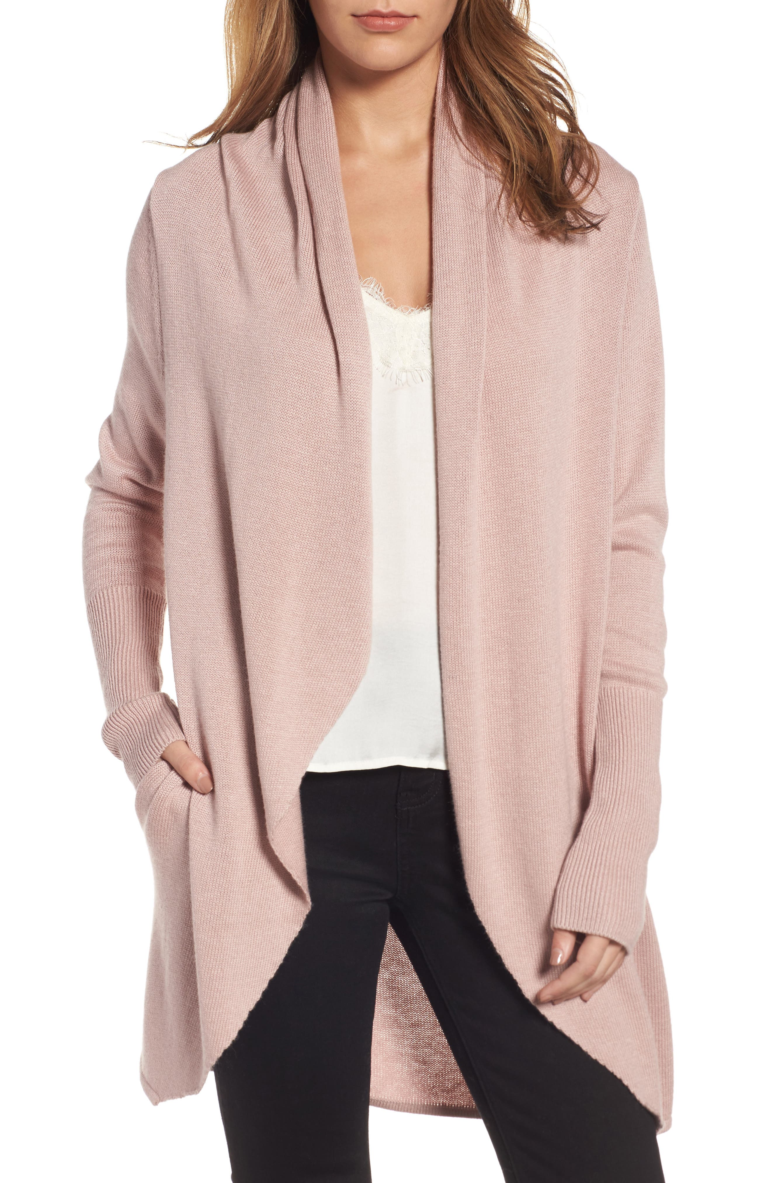Alternate Image 1 Selected - Leith Easy Circle Cardigan