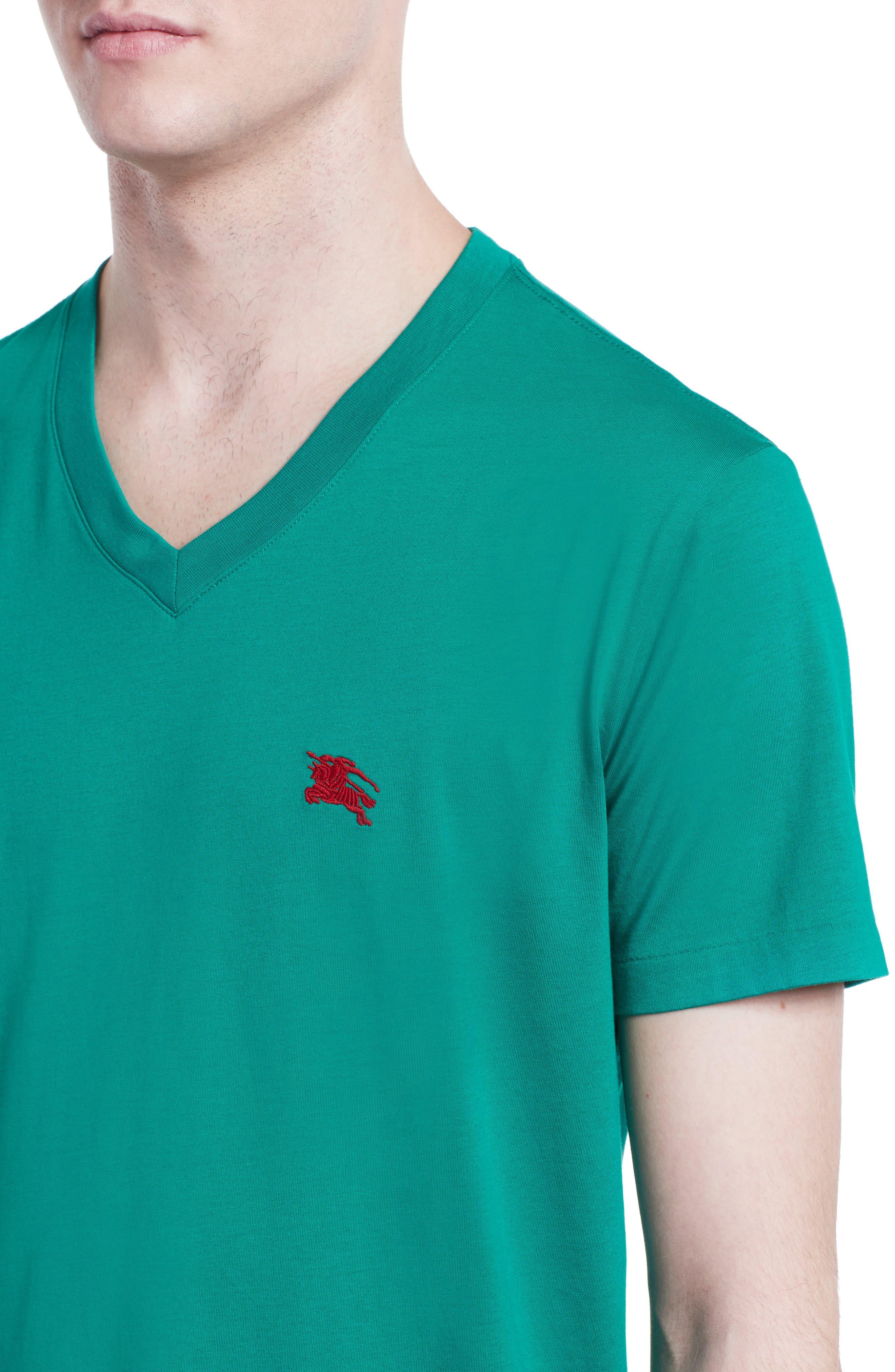 Alternate Image 4  - Burberry Lindon Cotton T-Shirt