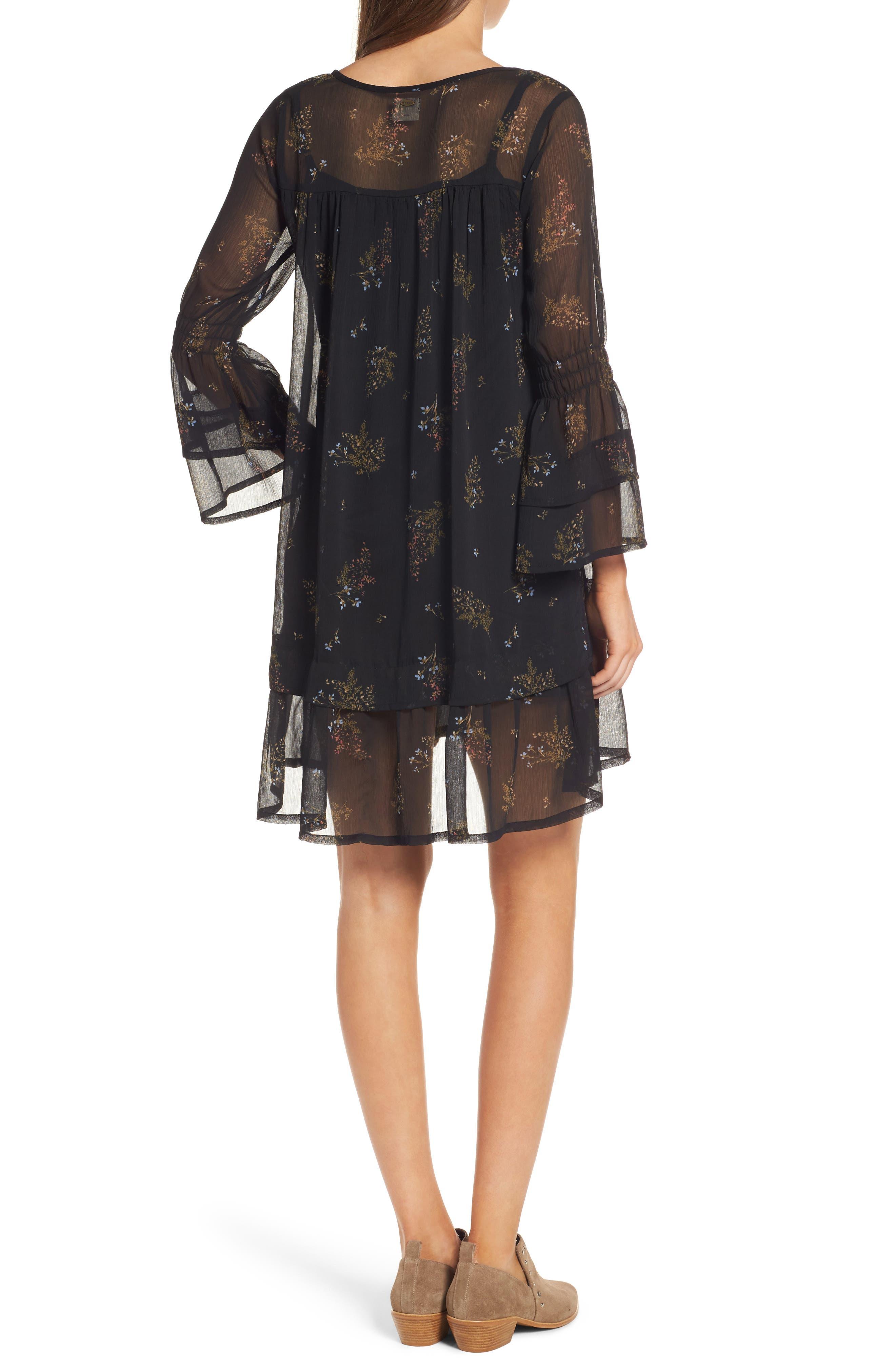 Alternate Image 2  - O'Neill Susannah Bell Sleeve Dress