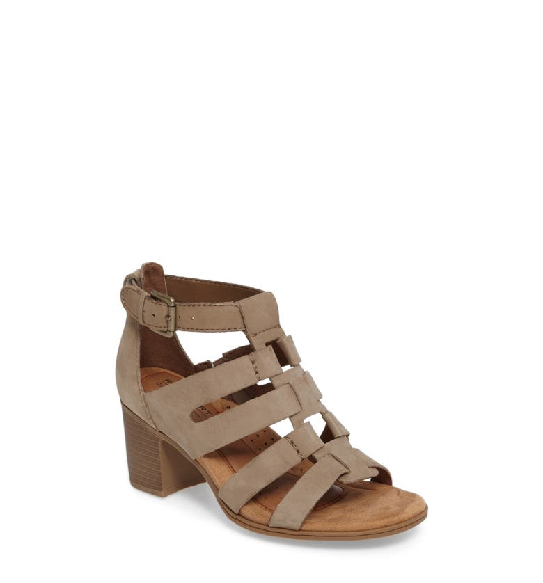 Gladiator Shoes With Block Heel