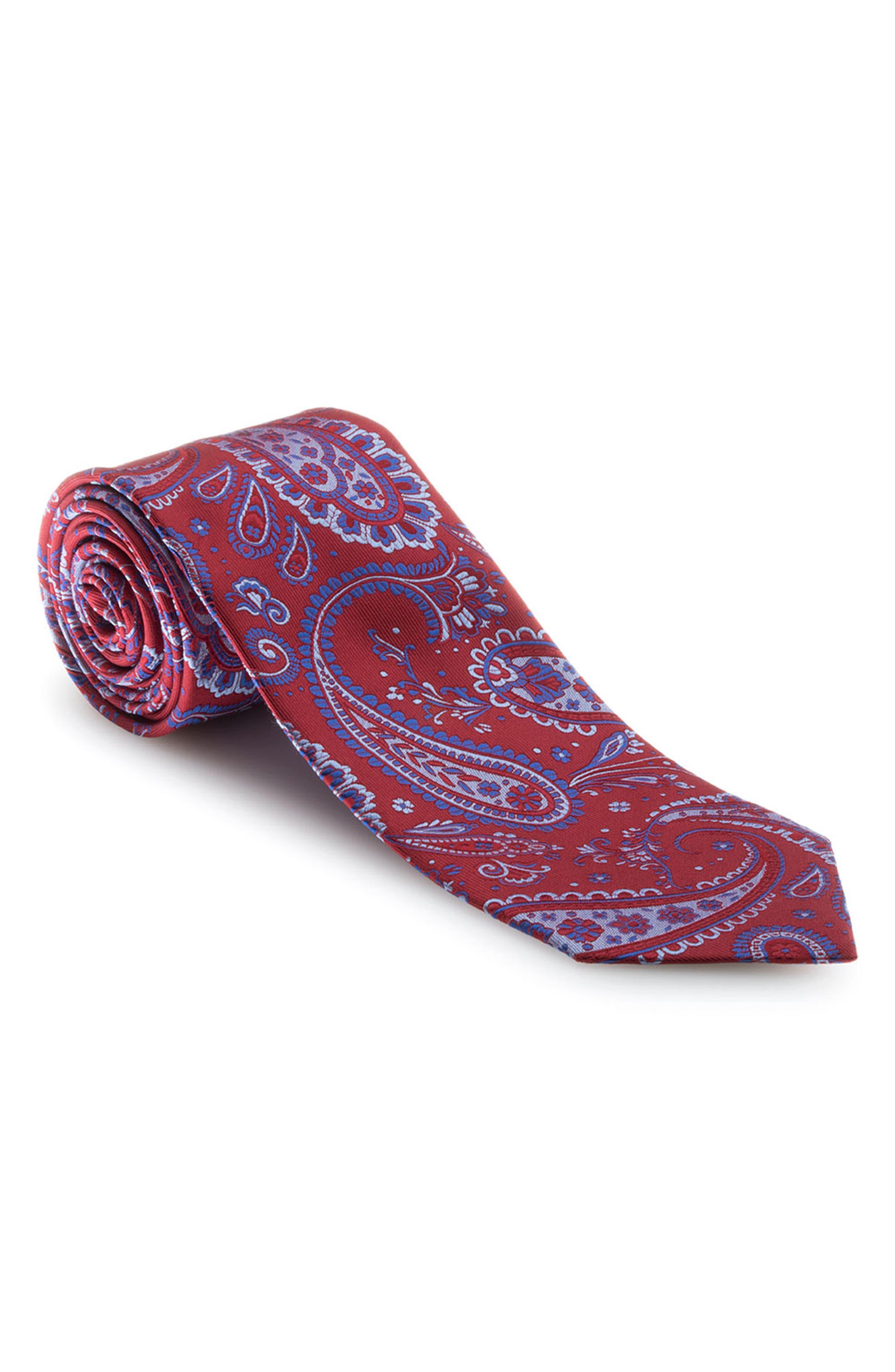 Robert Talbott Paisley Silk Tie