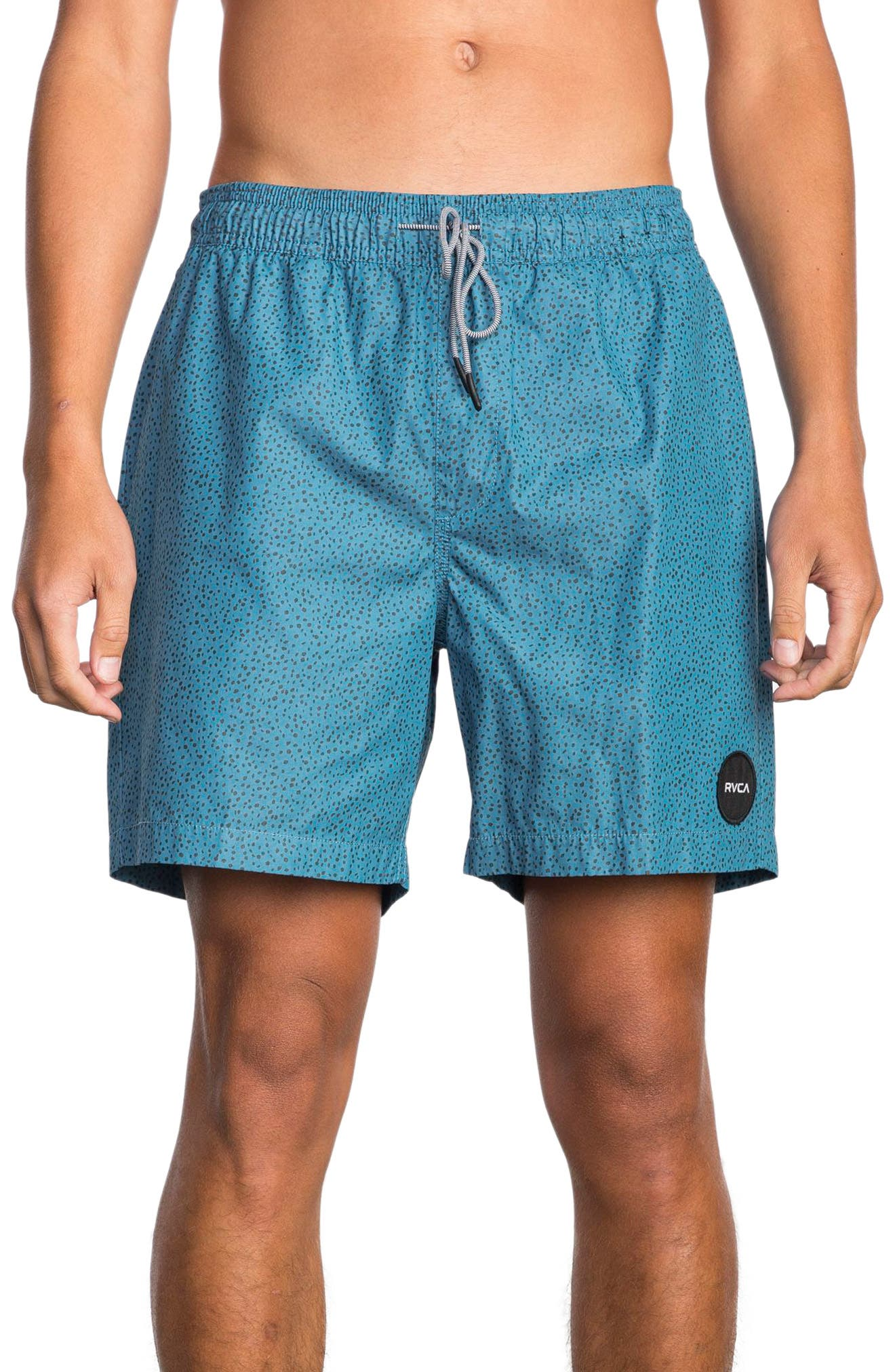 RVCA Speckled Print Swim Trunks