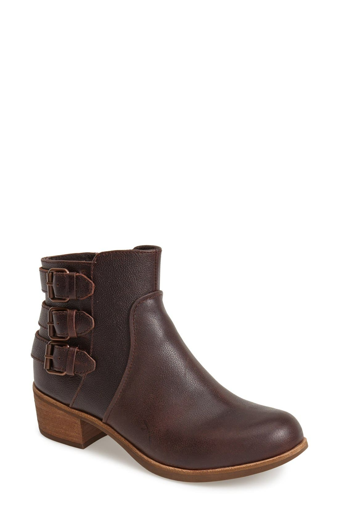 Alternate Image 1 Selected - UGG® Australia 'Volta' Leather Ankle Boot (Women)